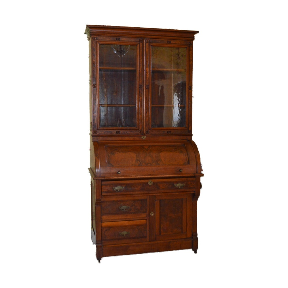 Antique Victorian Secretary