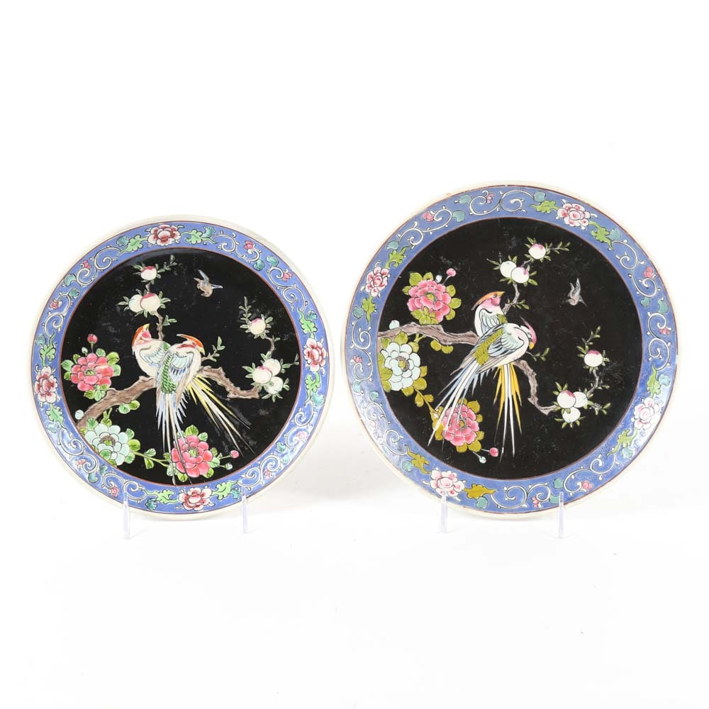 Chinese Porcelain Decorative Plates