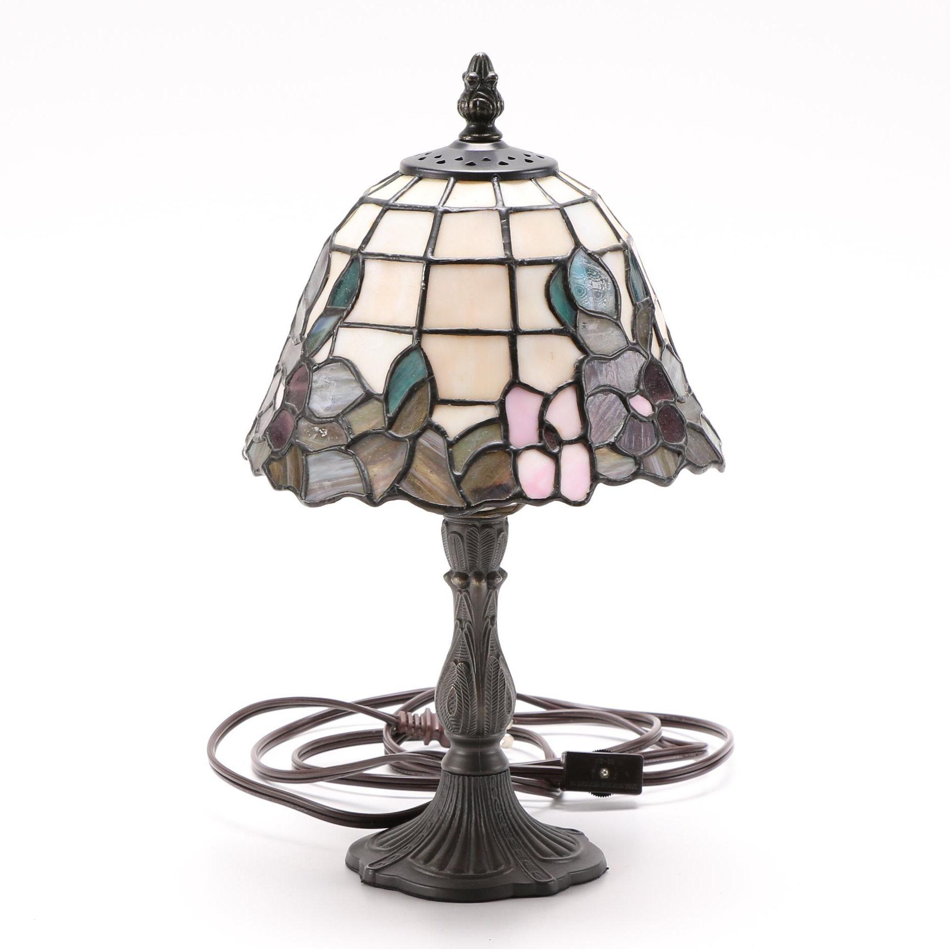 Small Tiffany Style Table Lamp ...