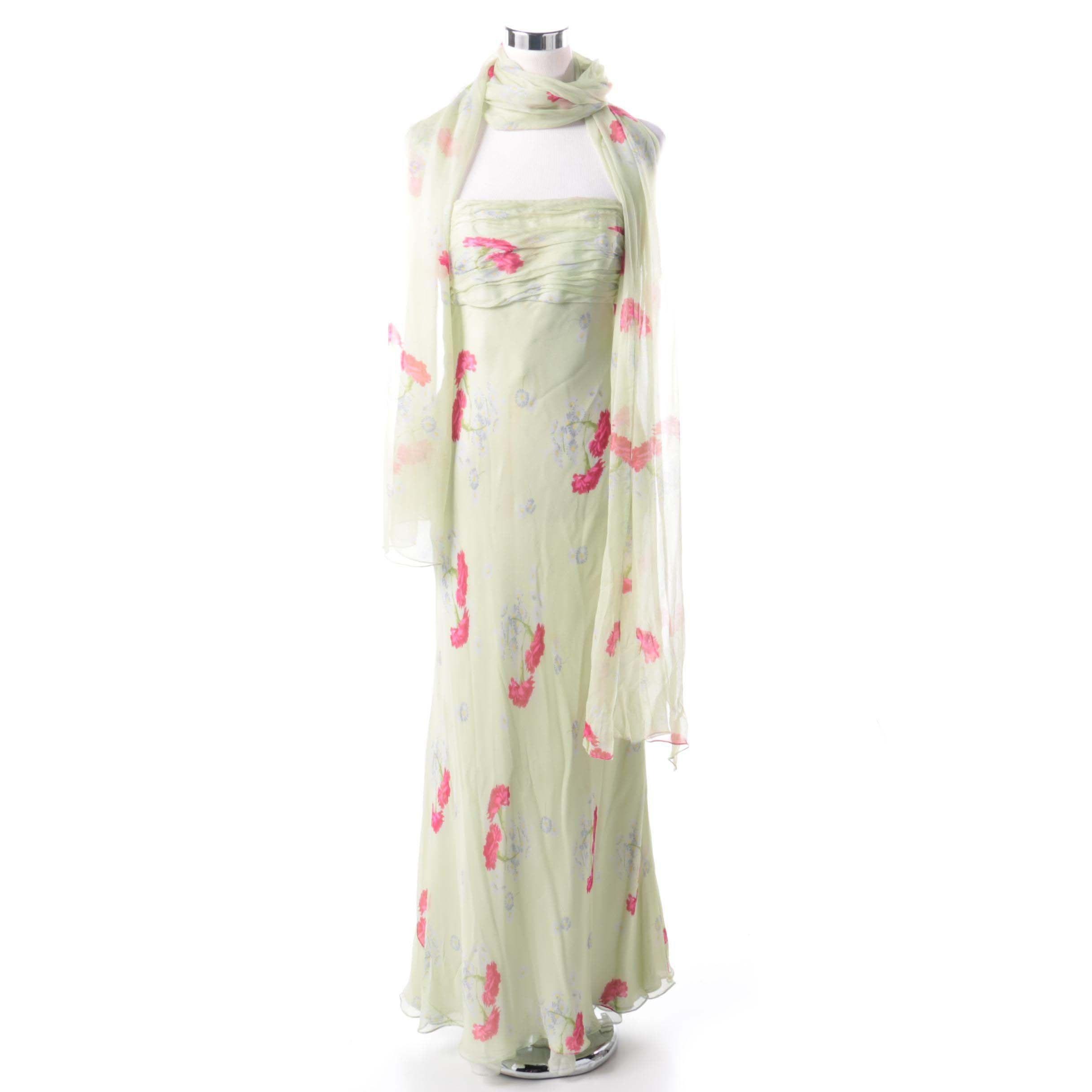 Tom and Linda Platt Floral Dress