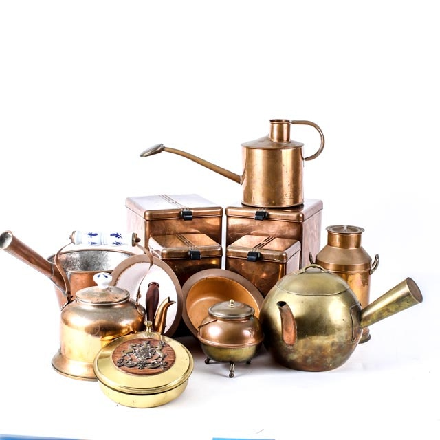 Copper Plated Kitchen Decor