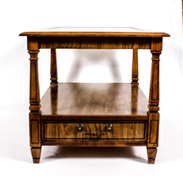 Federal Style Two Tier Side Table
