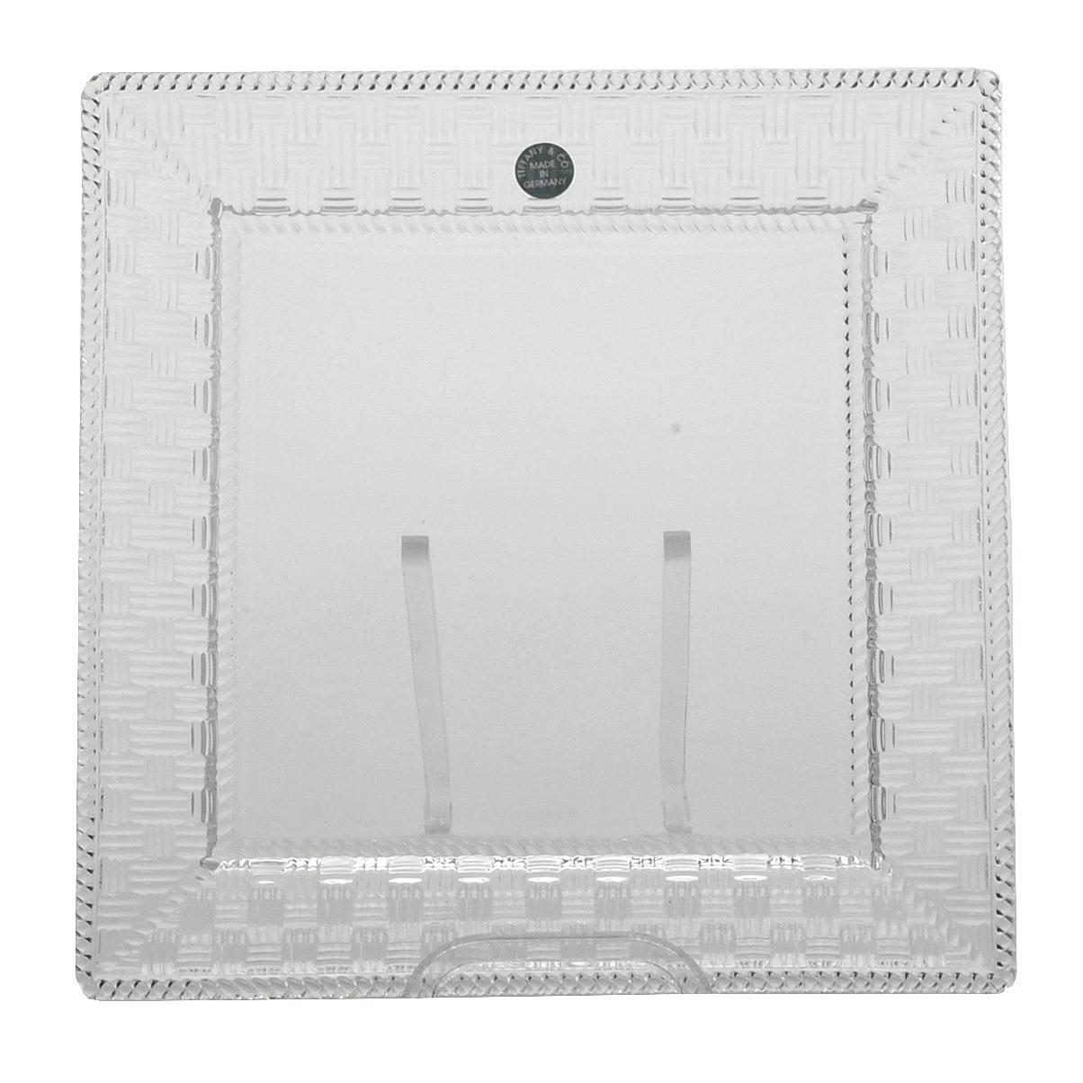 Tiffany & Co. Crystal Plate