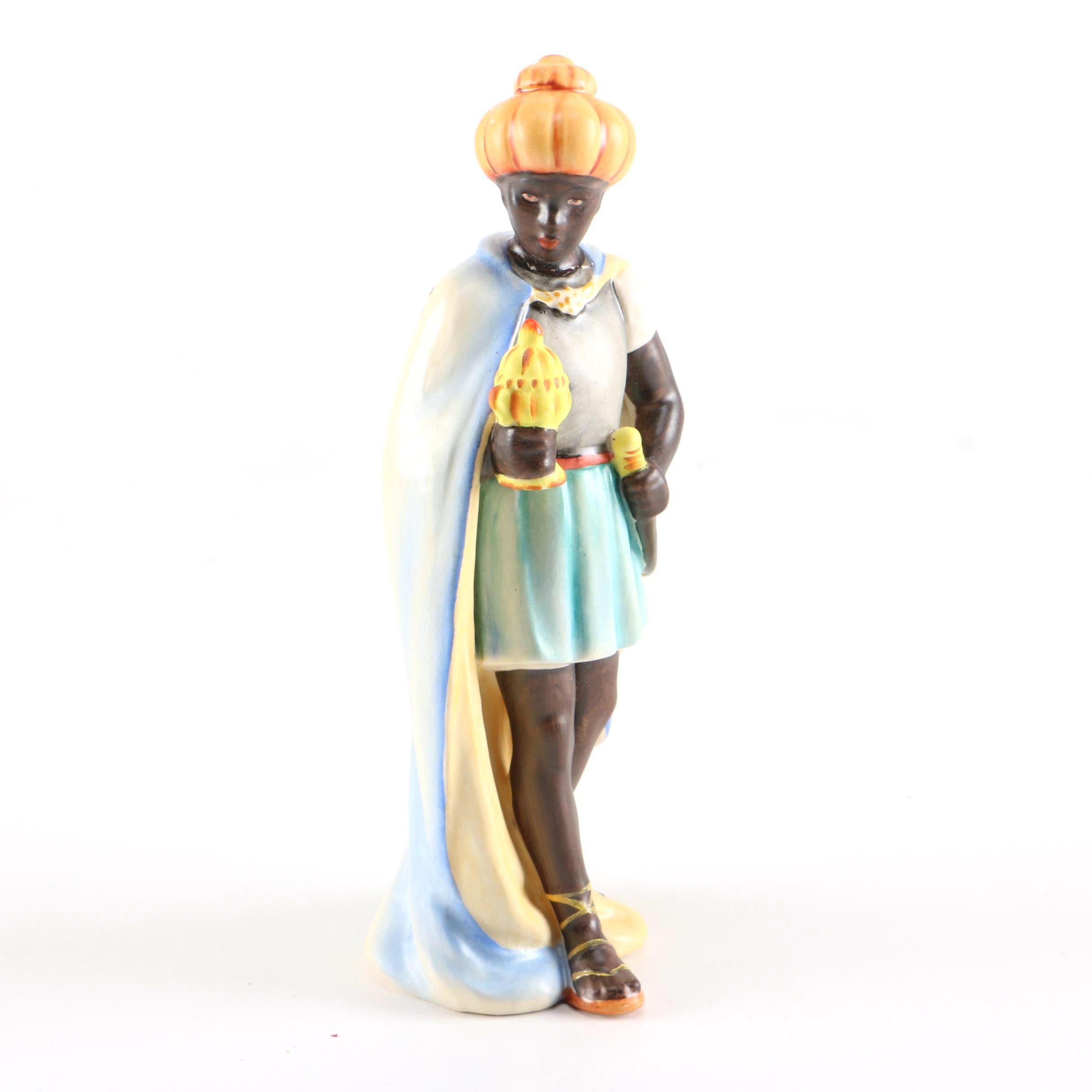 """Vintage Hummel """"Moorish King"""" Nativity Figurine"""