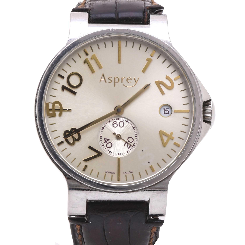 Asprey Stainless Steel Automatic Wristwatch