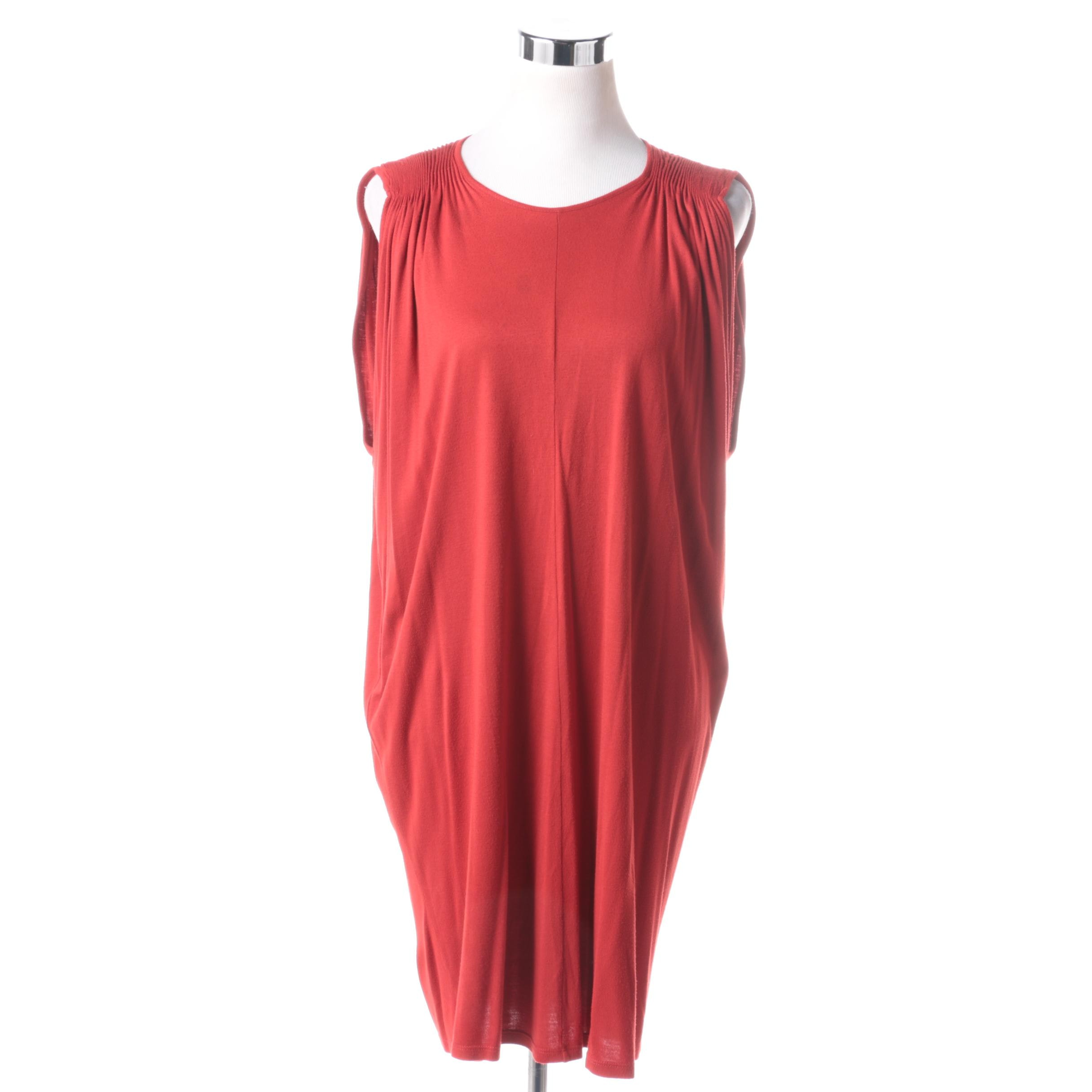 Stella McCartney Orange Tank Dress