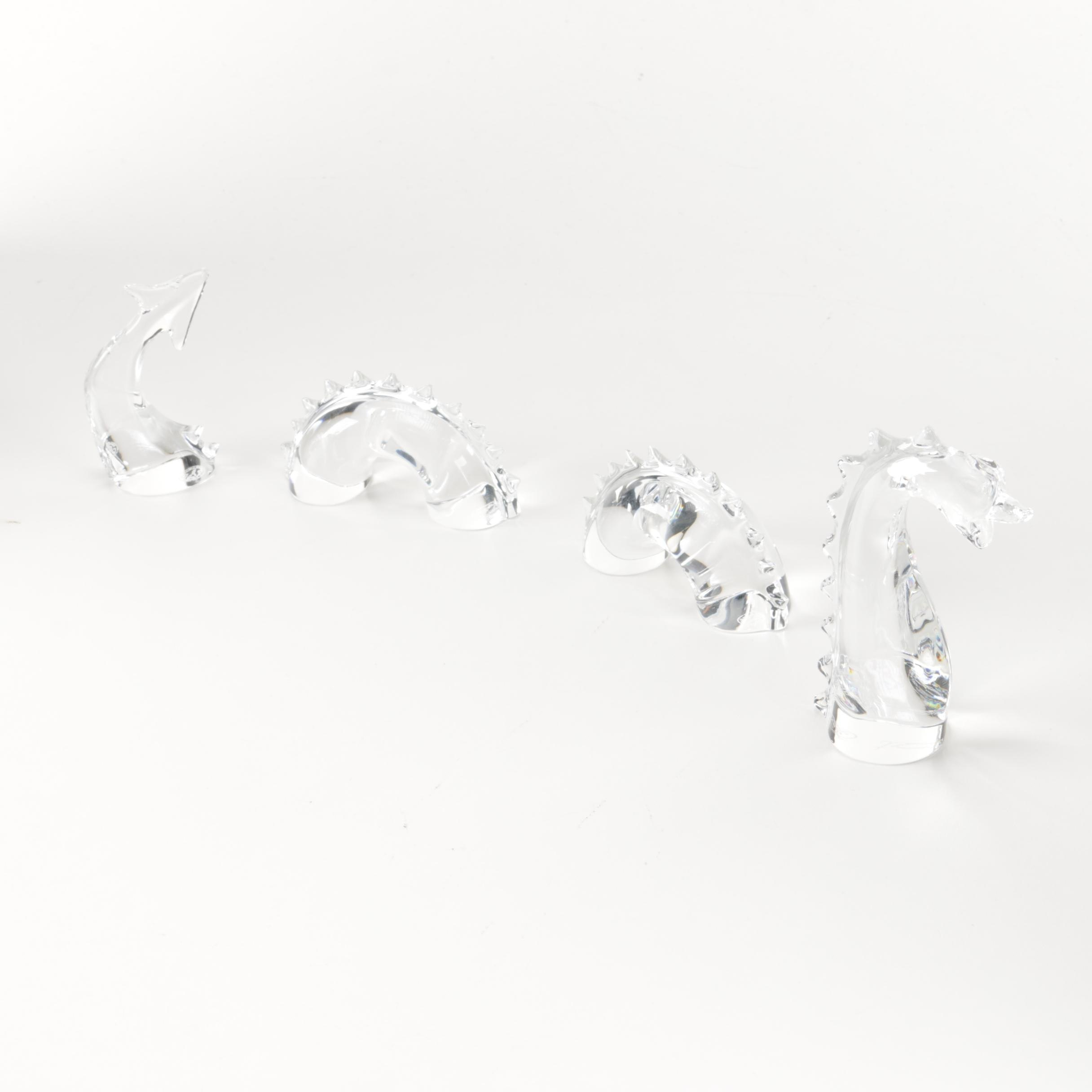 Baccarat Crystal Lochness Monster Figurine