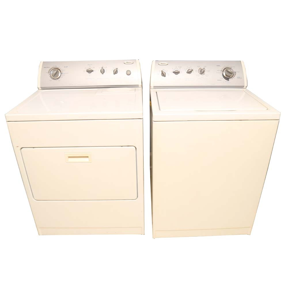 whirlpool ultimate care ii washer and dryer