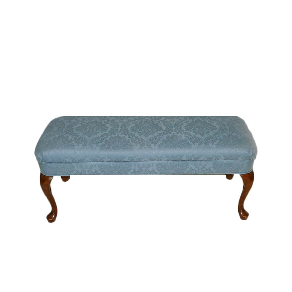 Queen Anne Style Upholstered Bench by Fairfield