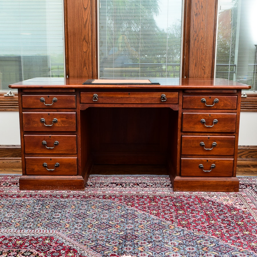 Bob Timberlake Cherry Executive Desk By Lexington Furniture ...