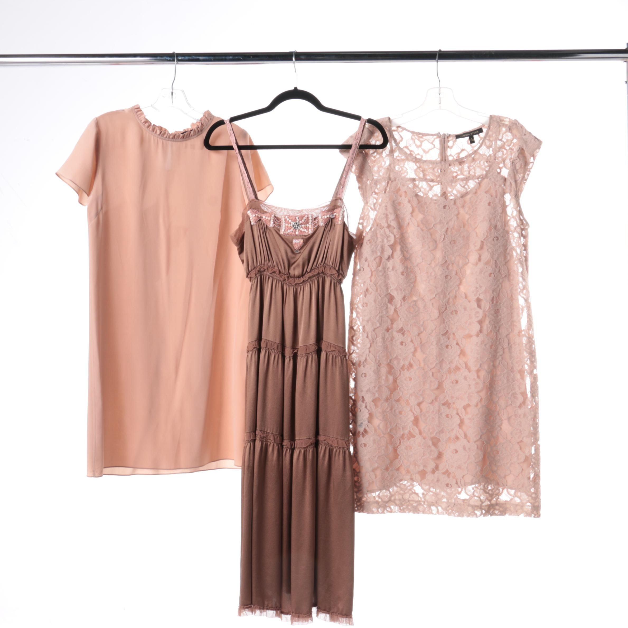 Blush Dresses Including Rebecca Taylor