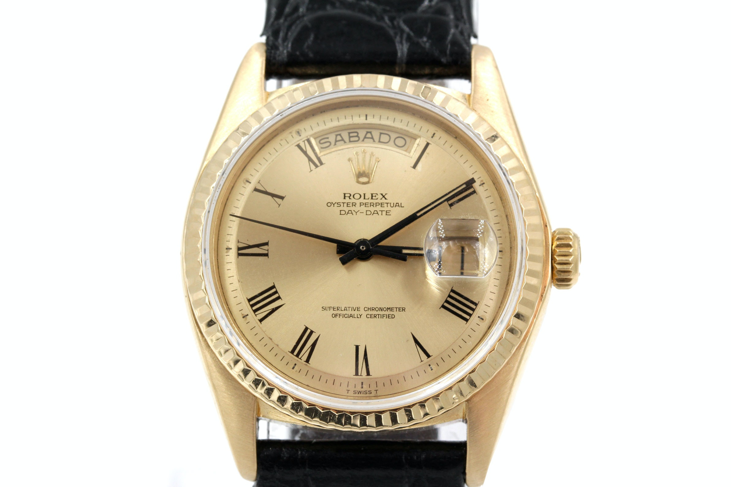 Rolex Wristwatch in 18K Yellow Gold