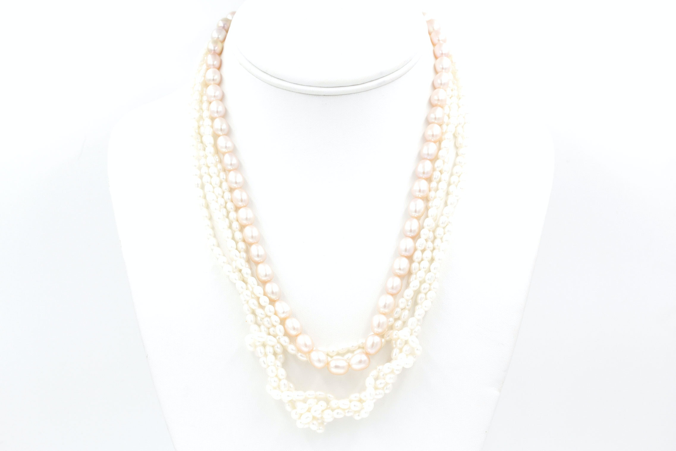 Pair of Freshwater Cultured Pearl Necklaces