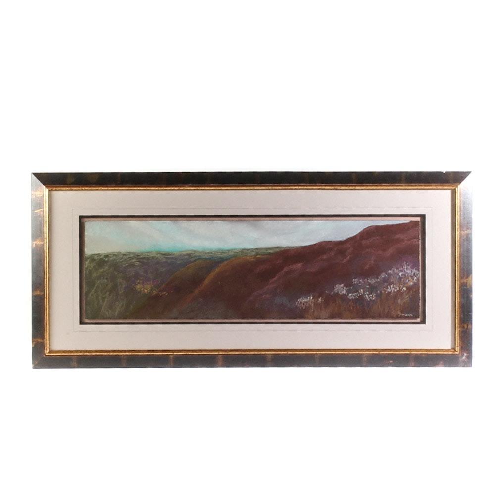 Karla Davidson Landscape Pastel on Paper