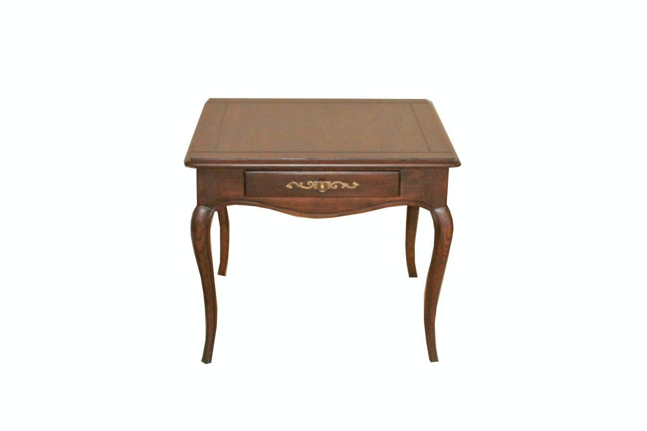 "Henredon ""Four Centuries"" Ash Side Table"