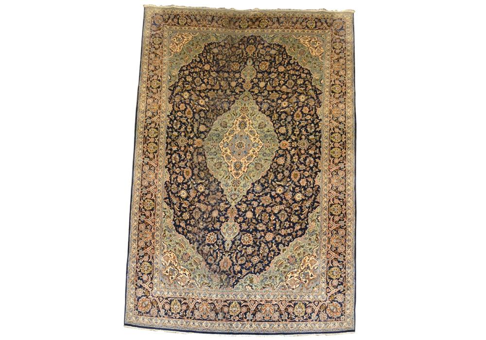 Handwoven Persian Inspired Area Rug