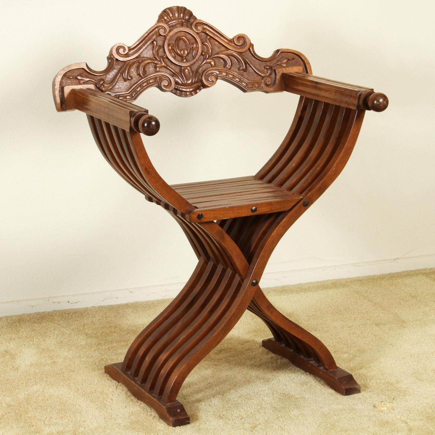 Savanarola Style Chair
