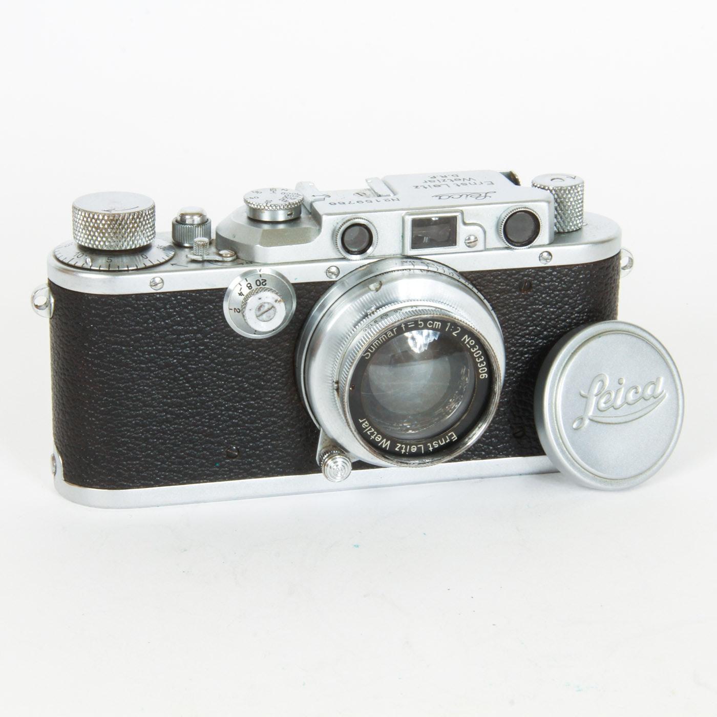 Leica D.R.P. Ernst Leitz Wetzlar Camera
