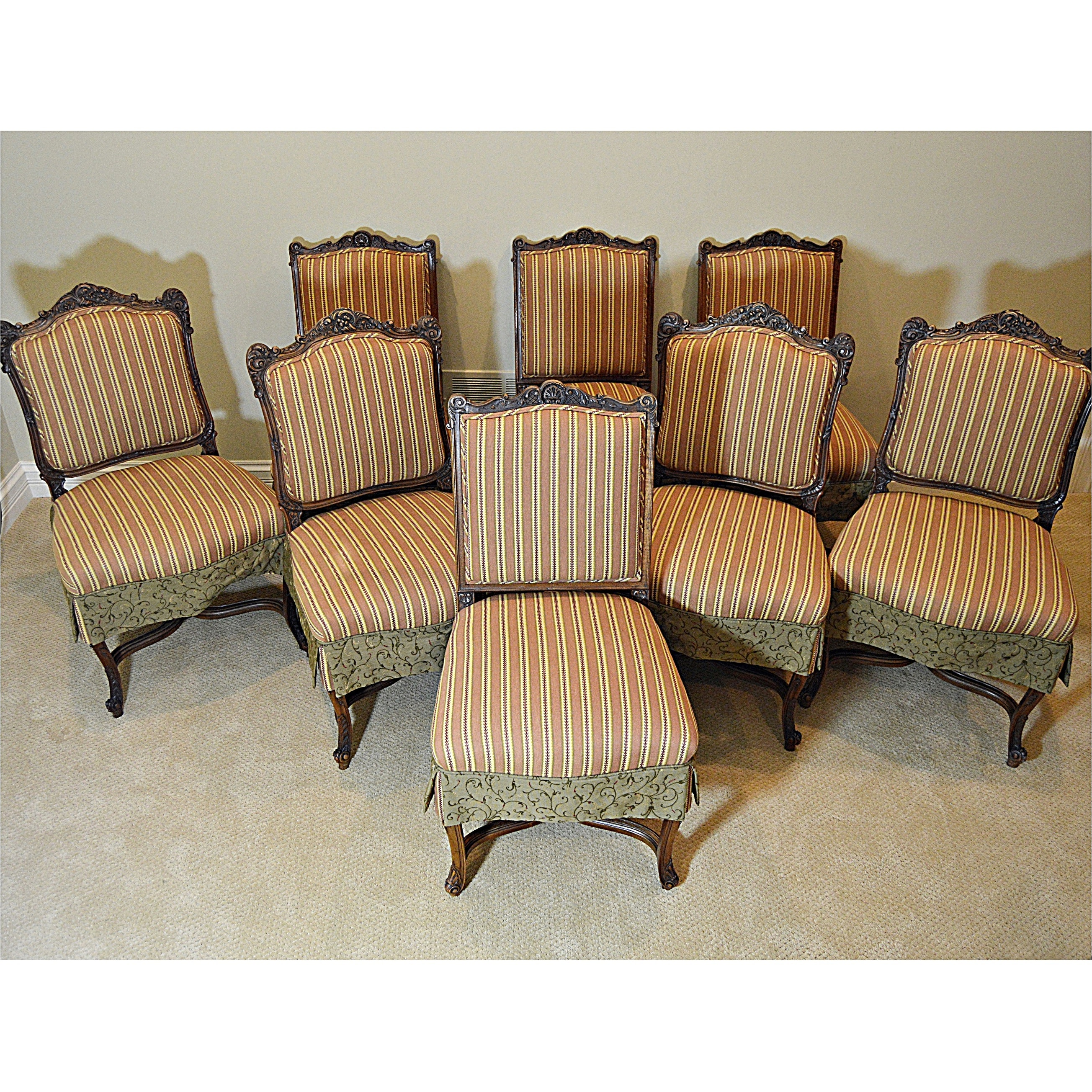Set of Antique Louis XV Style Chairs