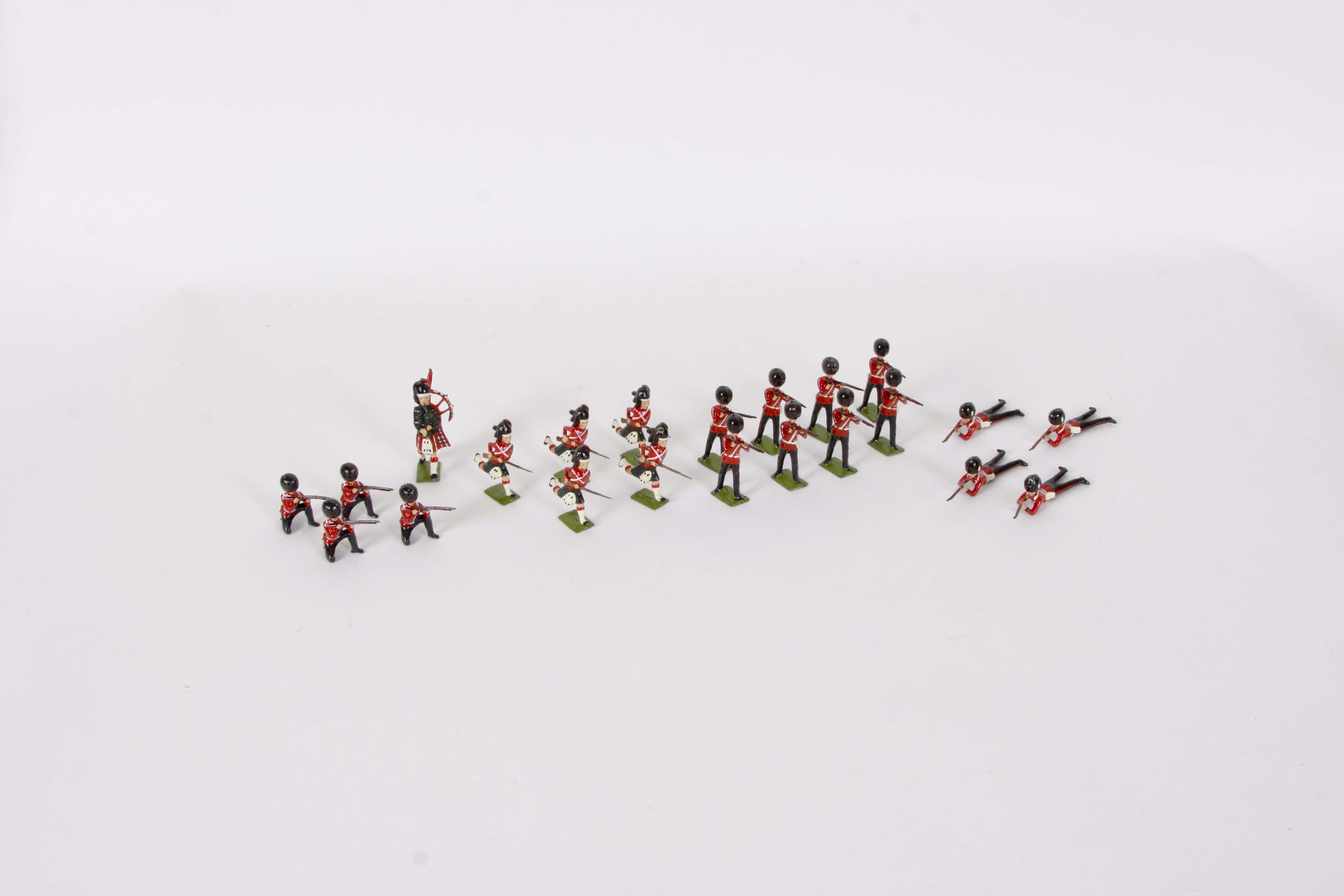 Britains Ltd. Diecast Soldier Figurines