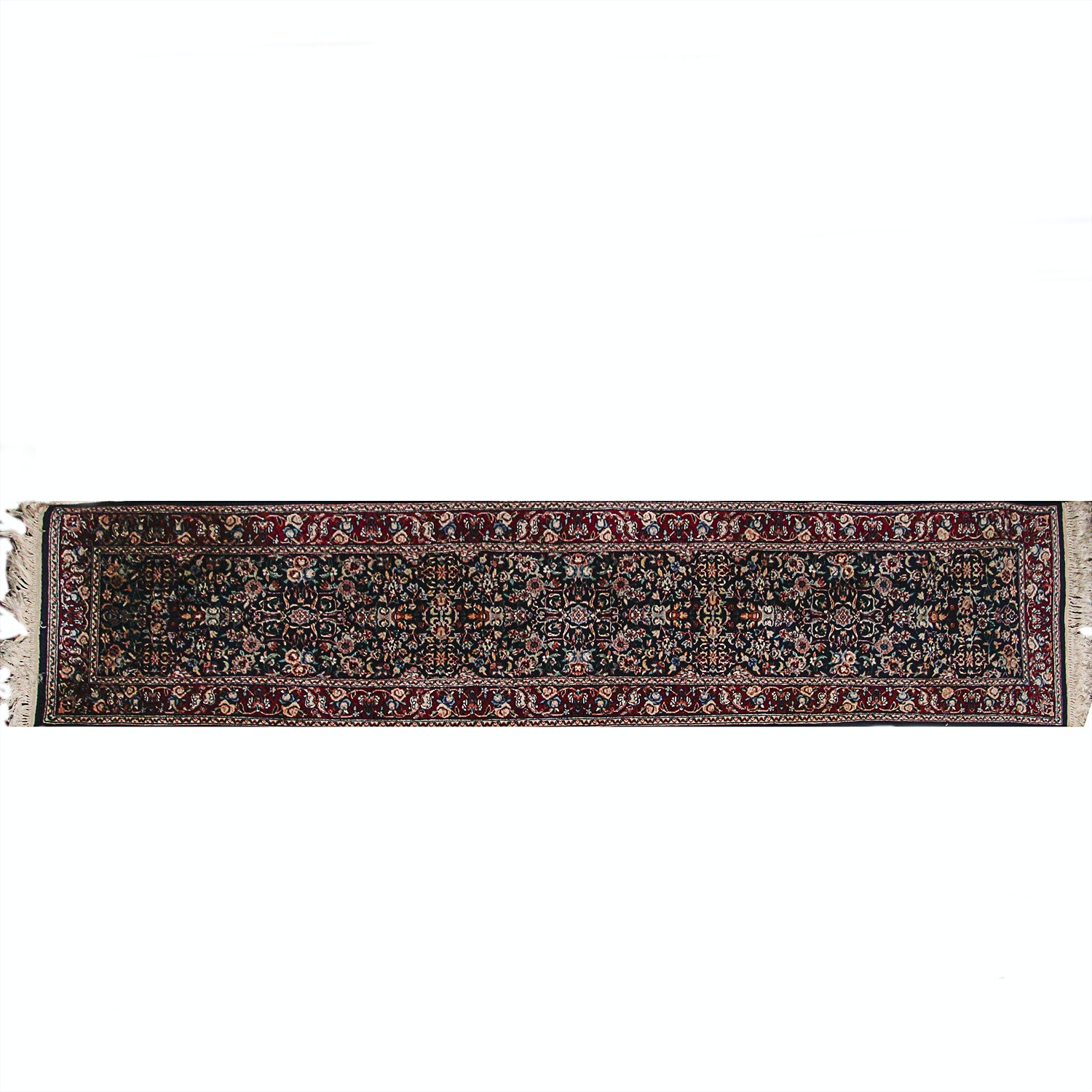 Hand-Knotted Persian Style Carpet Runner