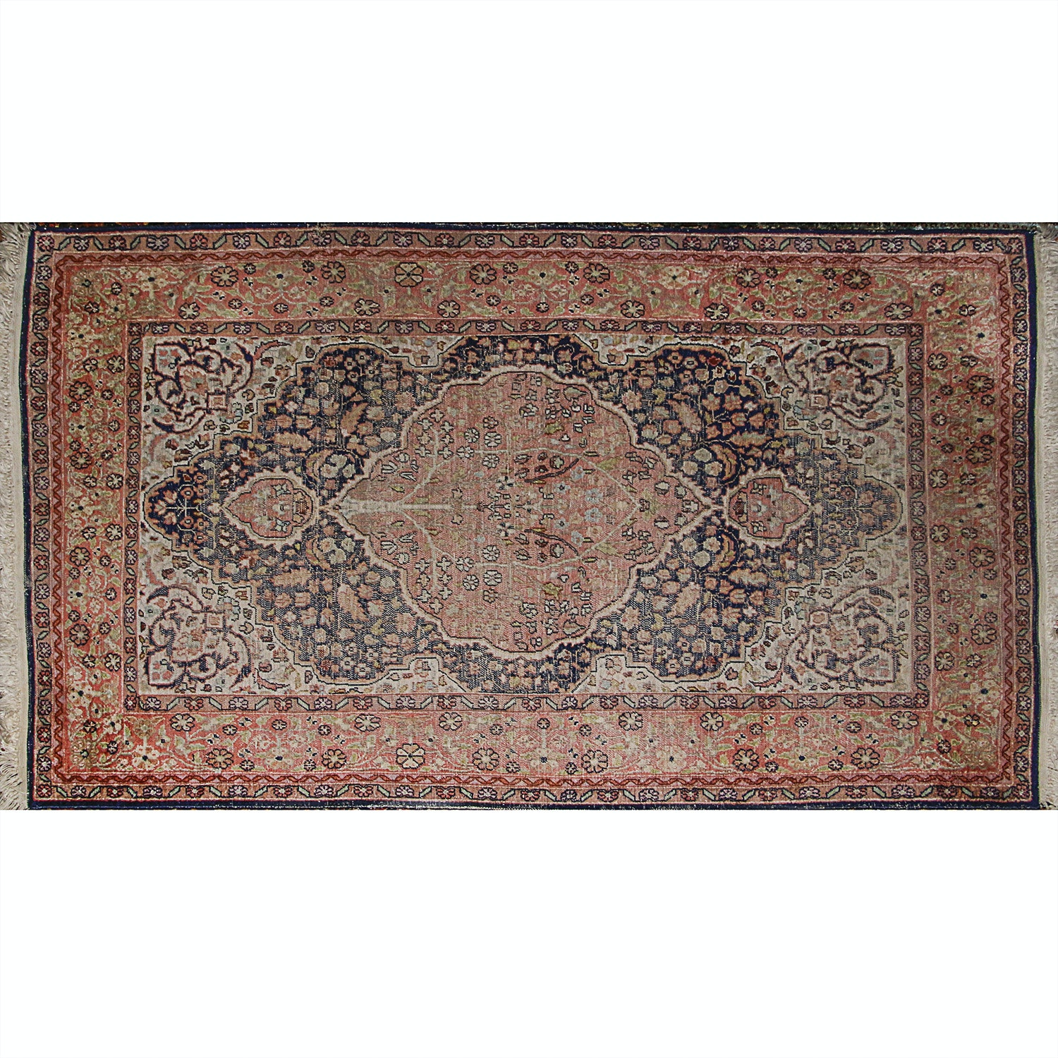 Power Loomed Indo-Persian Tabriz-Style Area Rug