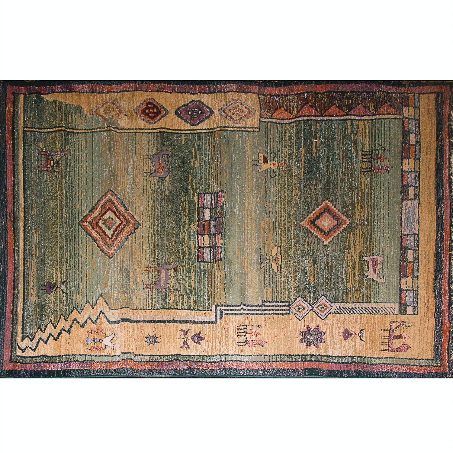 Power Loomed Oriental Weavers Gabbeh Collection Area Rug