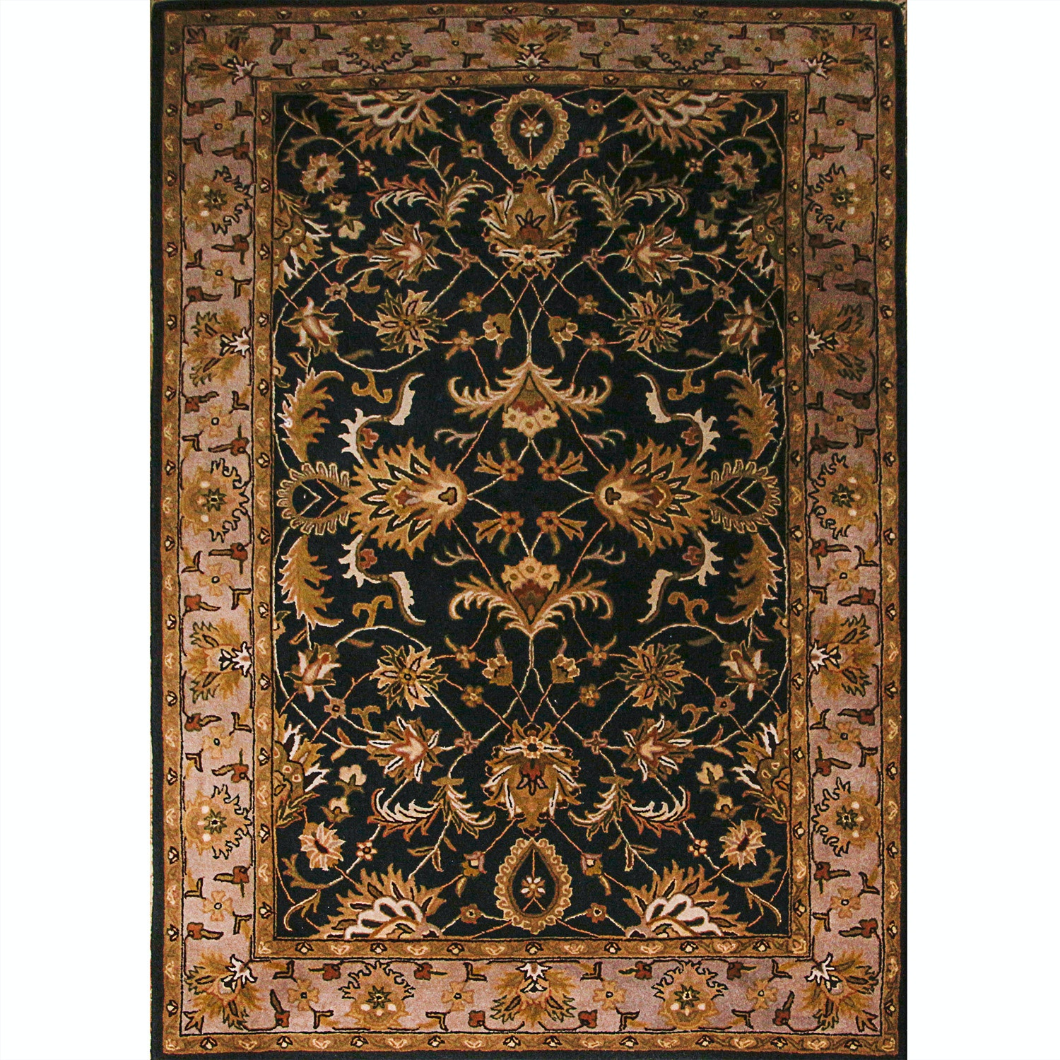 """Tufted Indo-Persian """"Constantine"""" Area Rug By Home Decorators"""