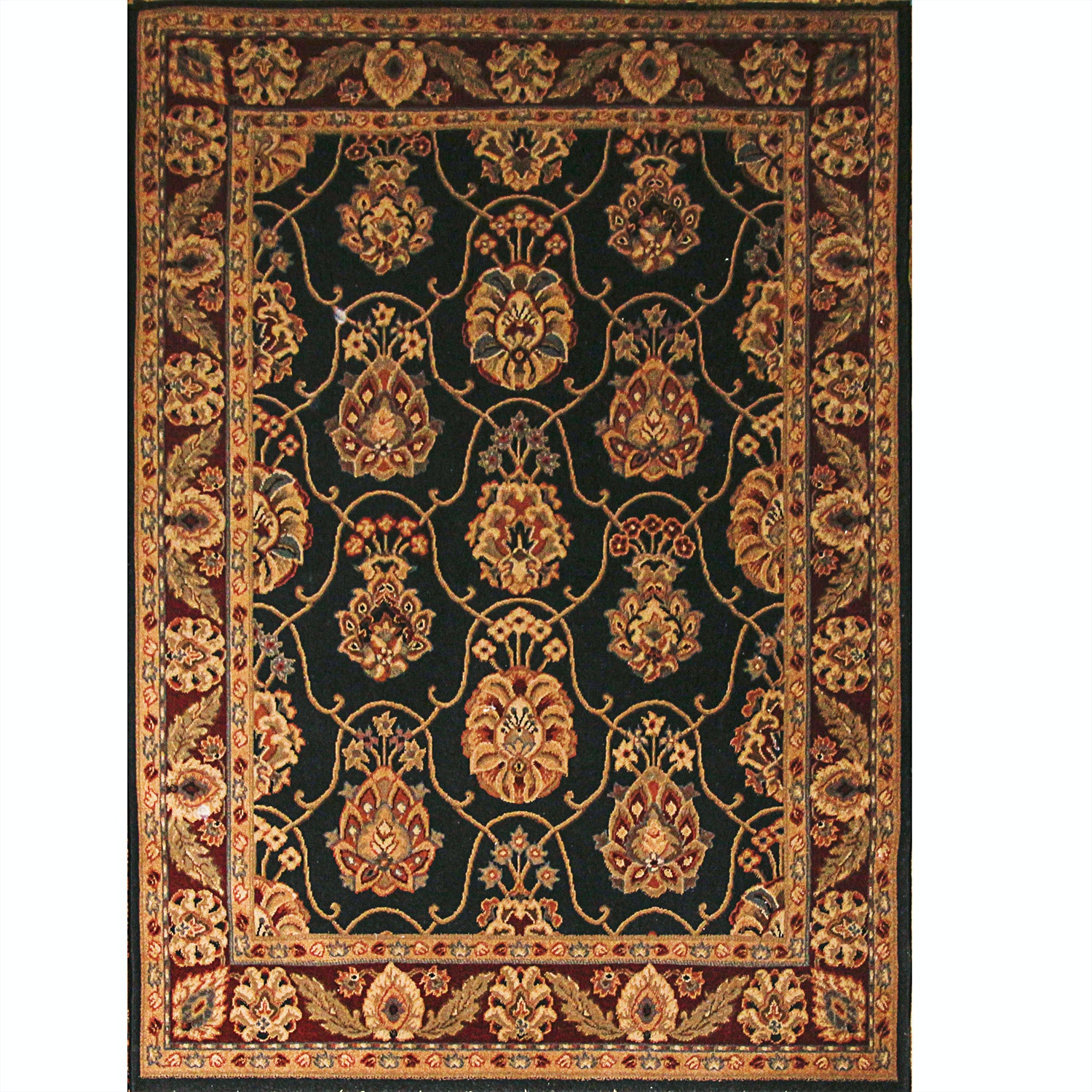 Power Loomed Persian-Style Area Rug