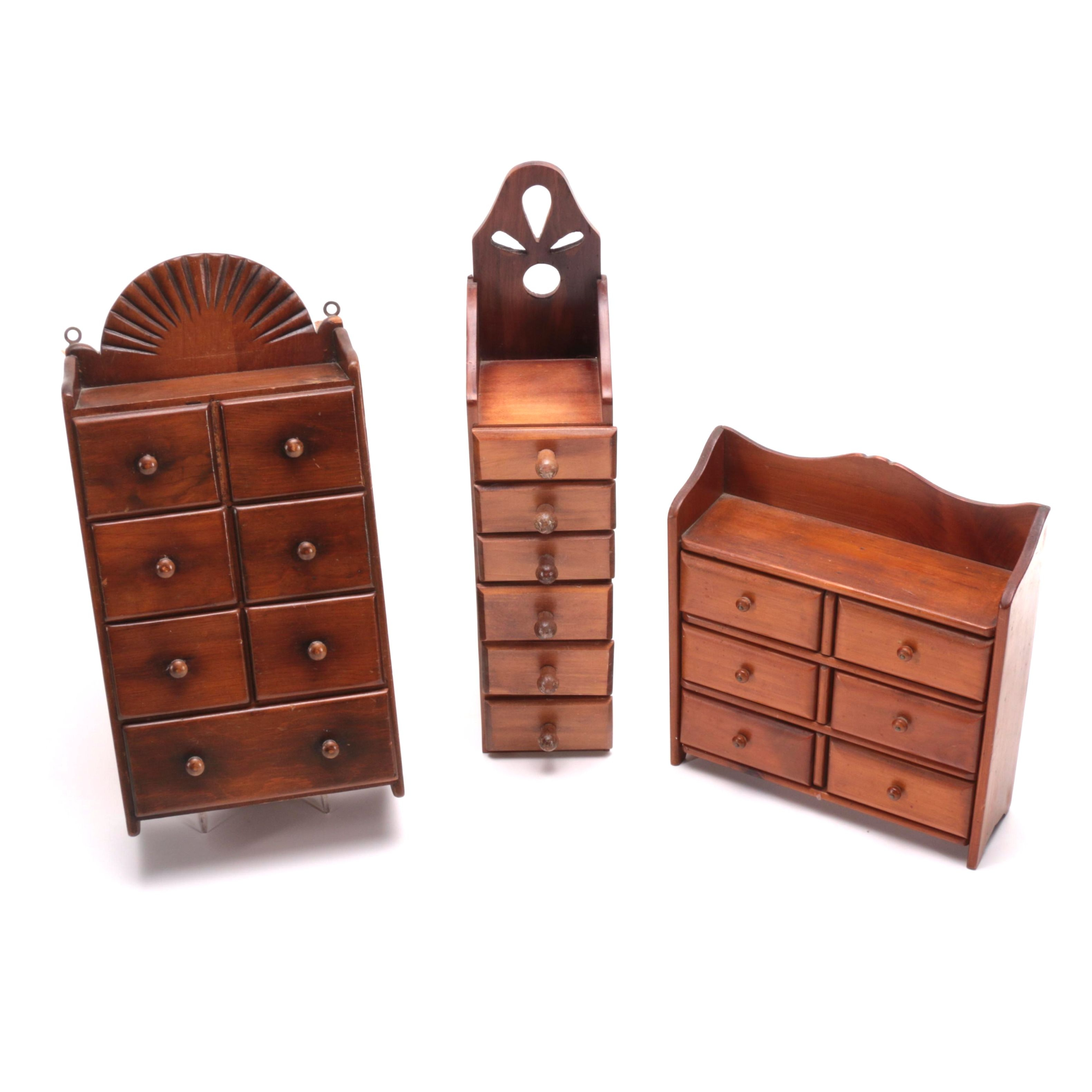 Wooden Spice Containers
