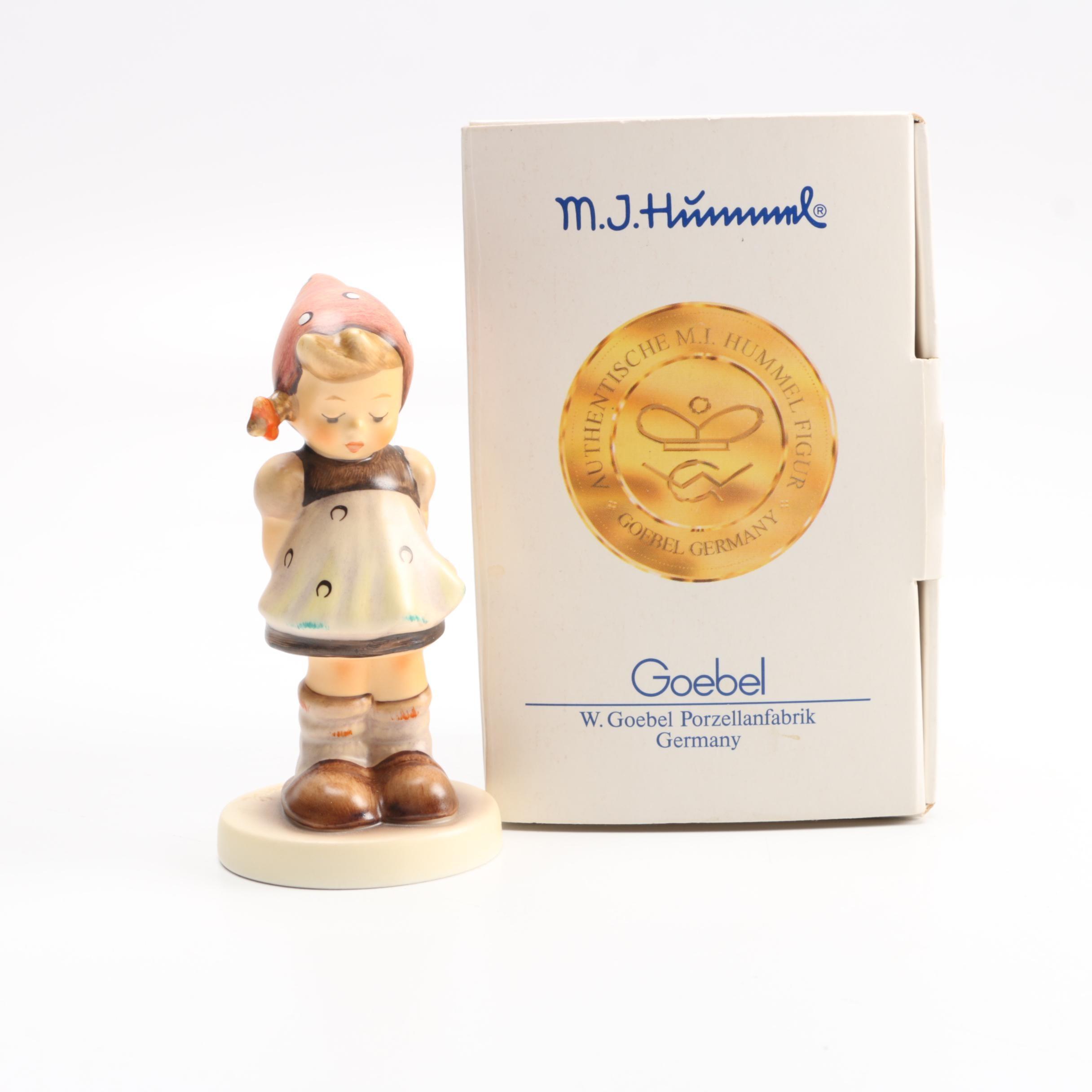 """M J Hummel """"Pretty Please"""" Figurine"""