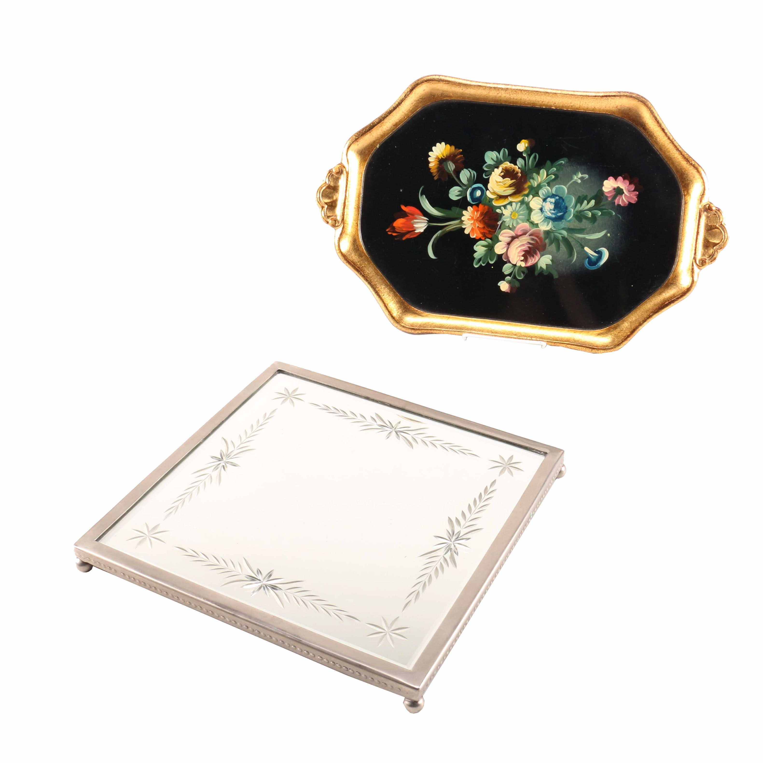 Hand-Painted Italian Serving Tray and More
