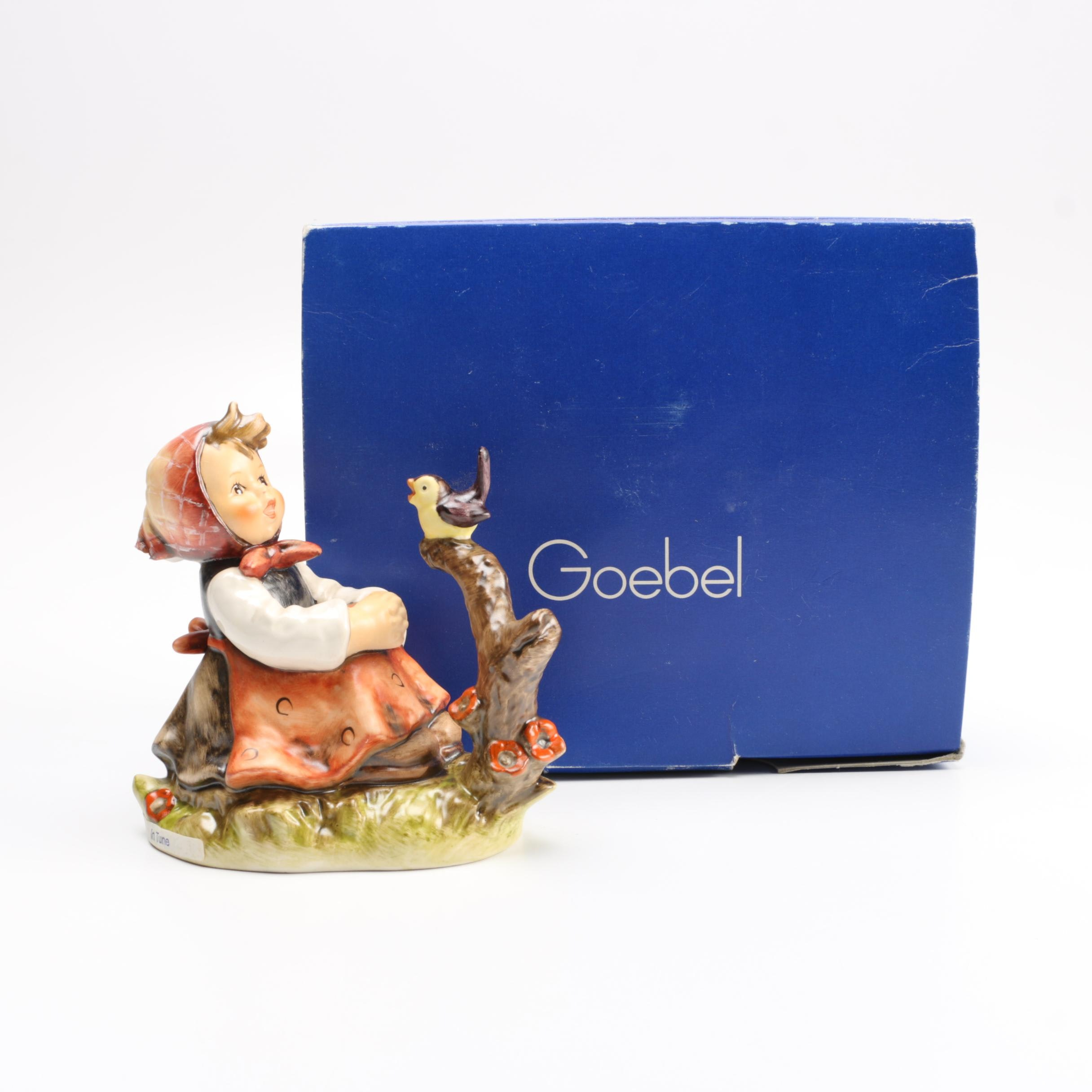 "1979 Goebel Hummel ""In Tune"" #414 Figurine"