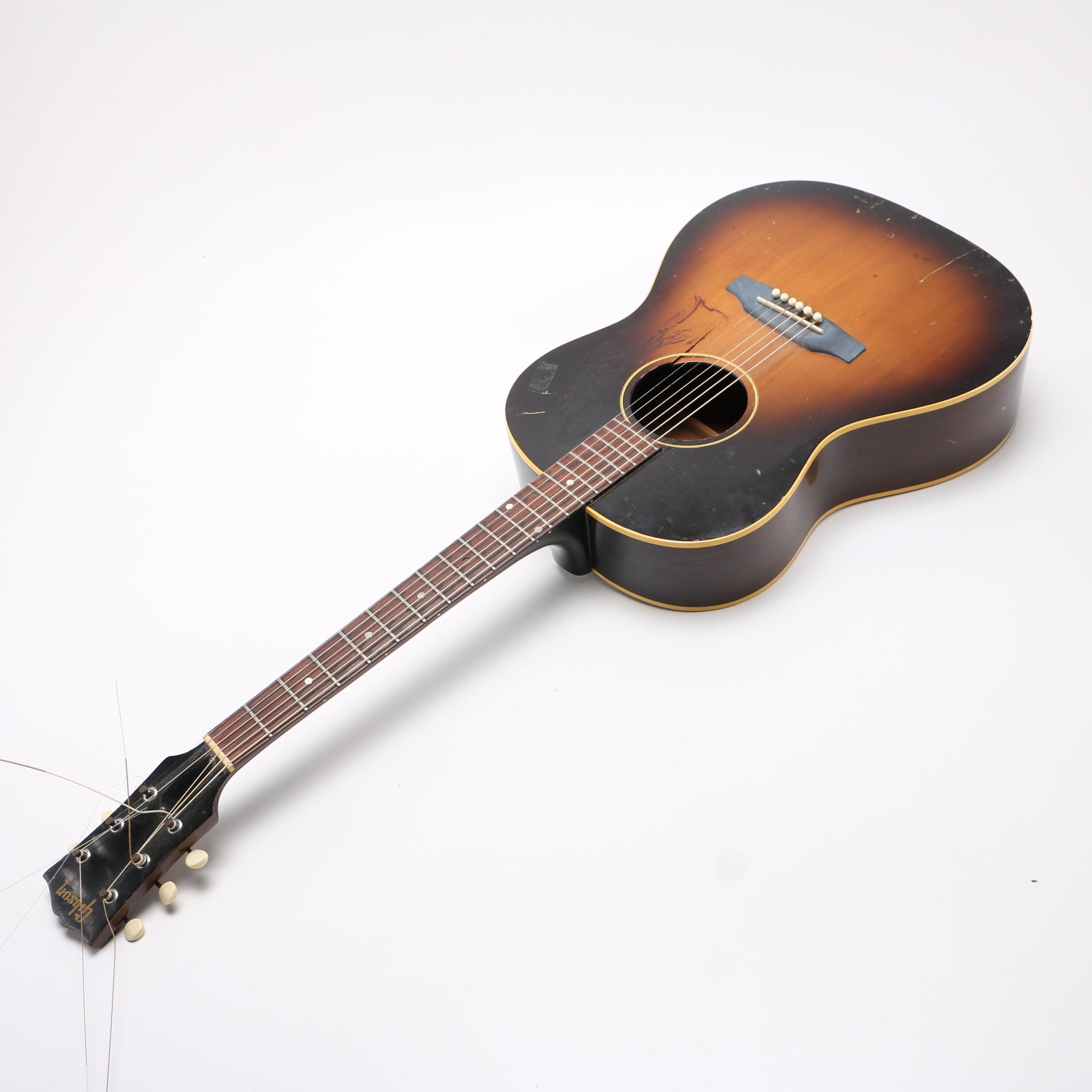 Vintage Gibson Acoustic Guitar