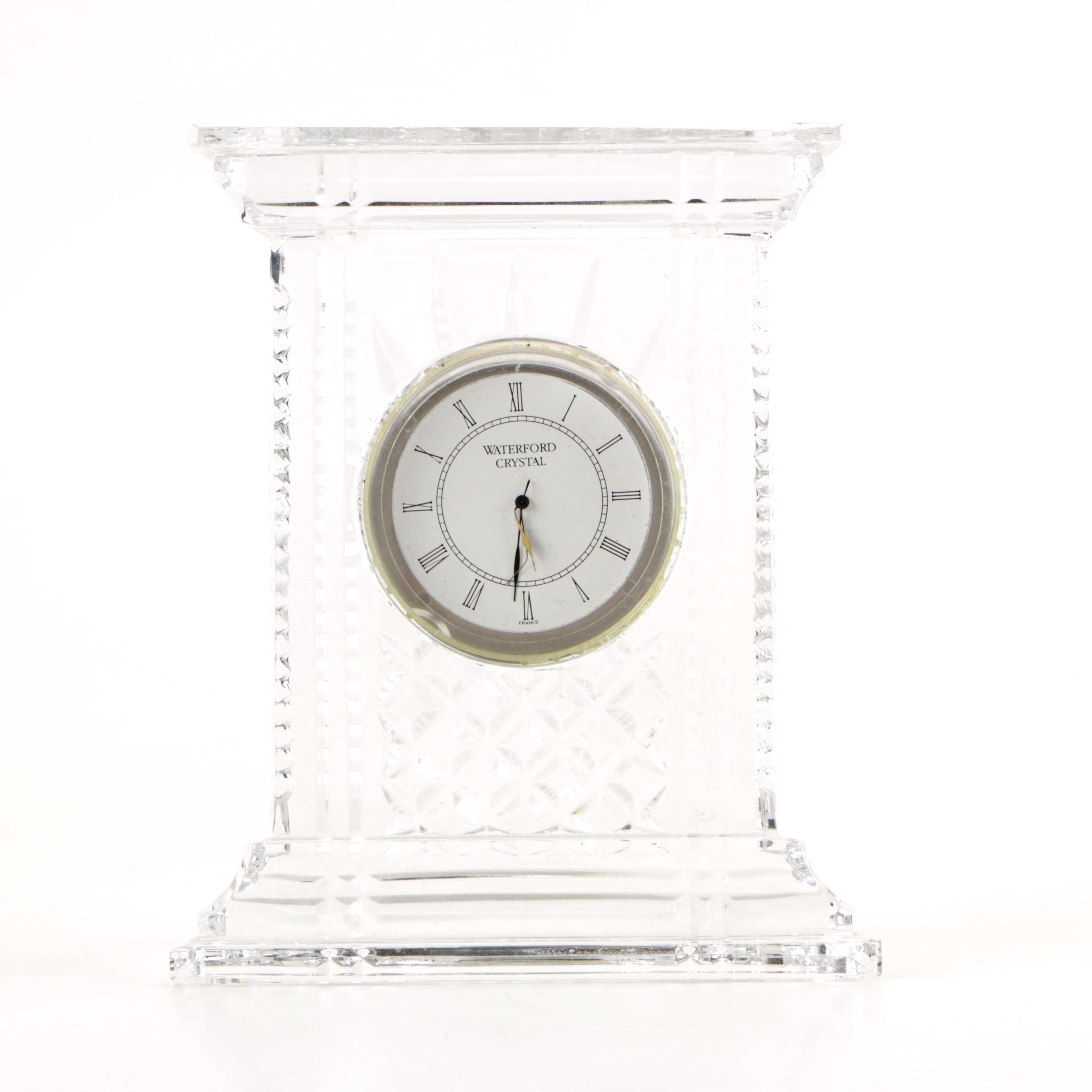 Waterford Crystal Mantel Clock