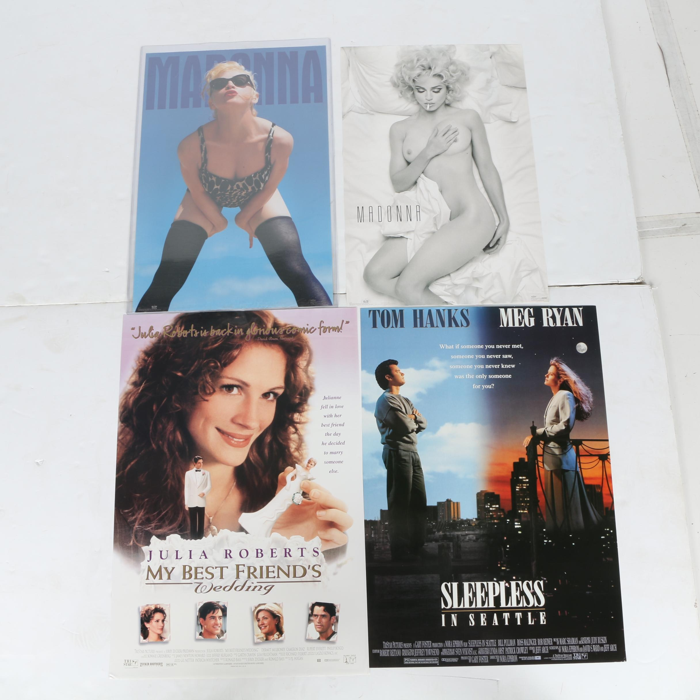Offset Lithographs of Posters Featuring Madonna