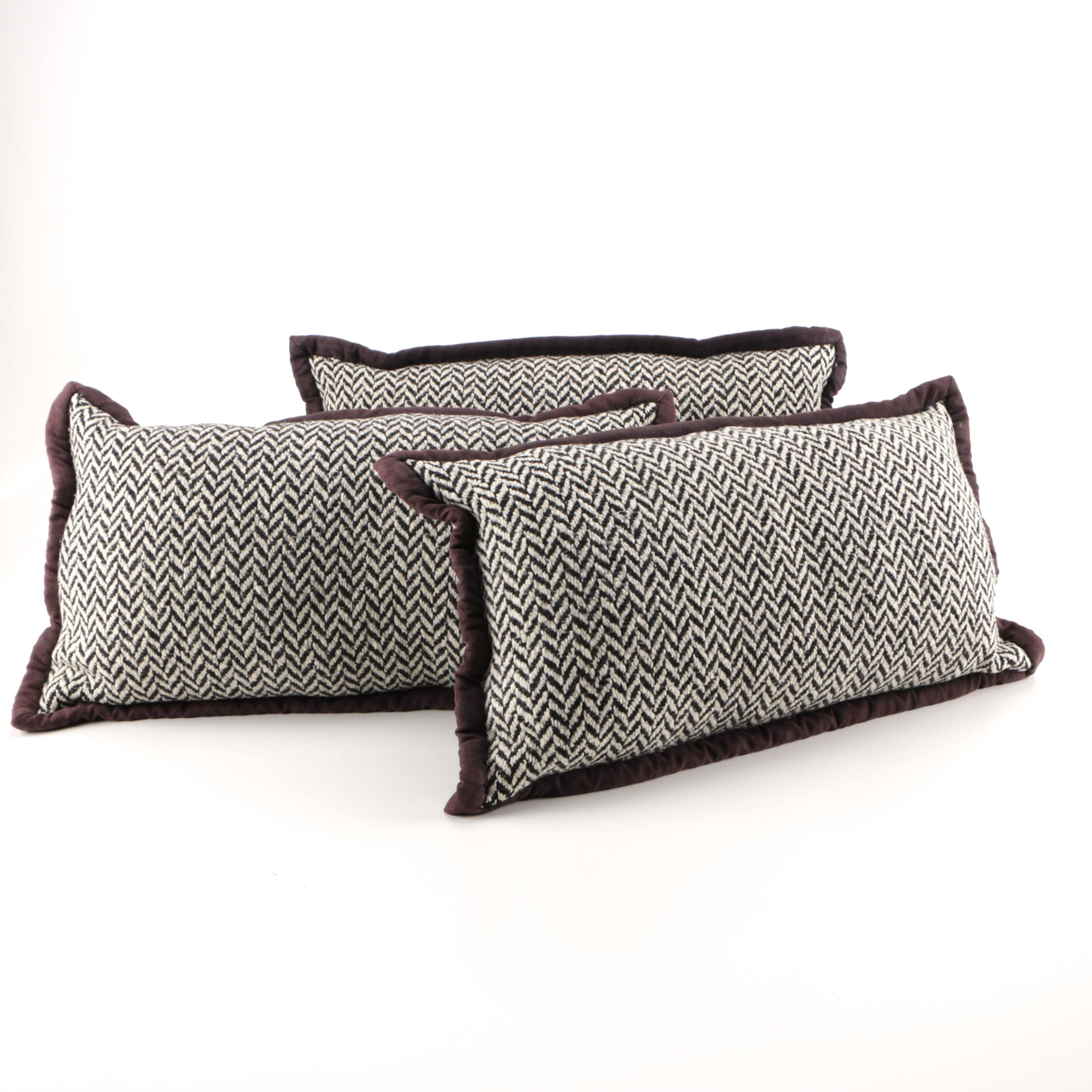 Black and White Accent Pillows