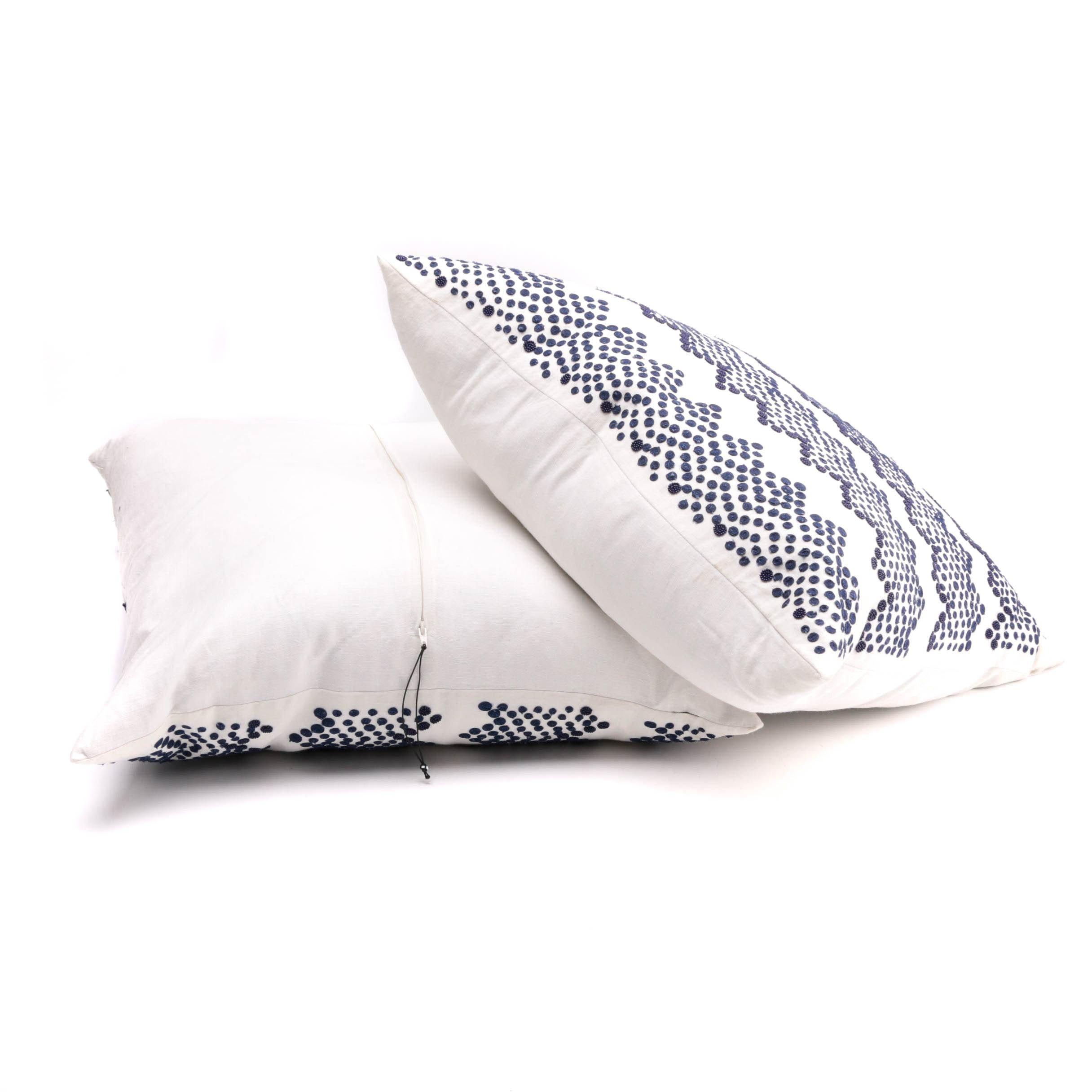 Linen Throw Pillows