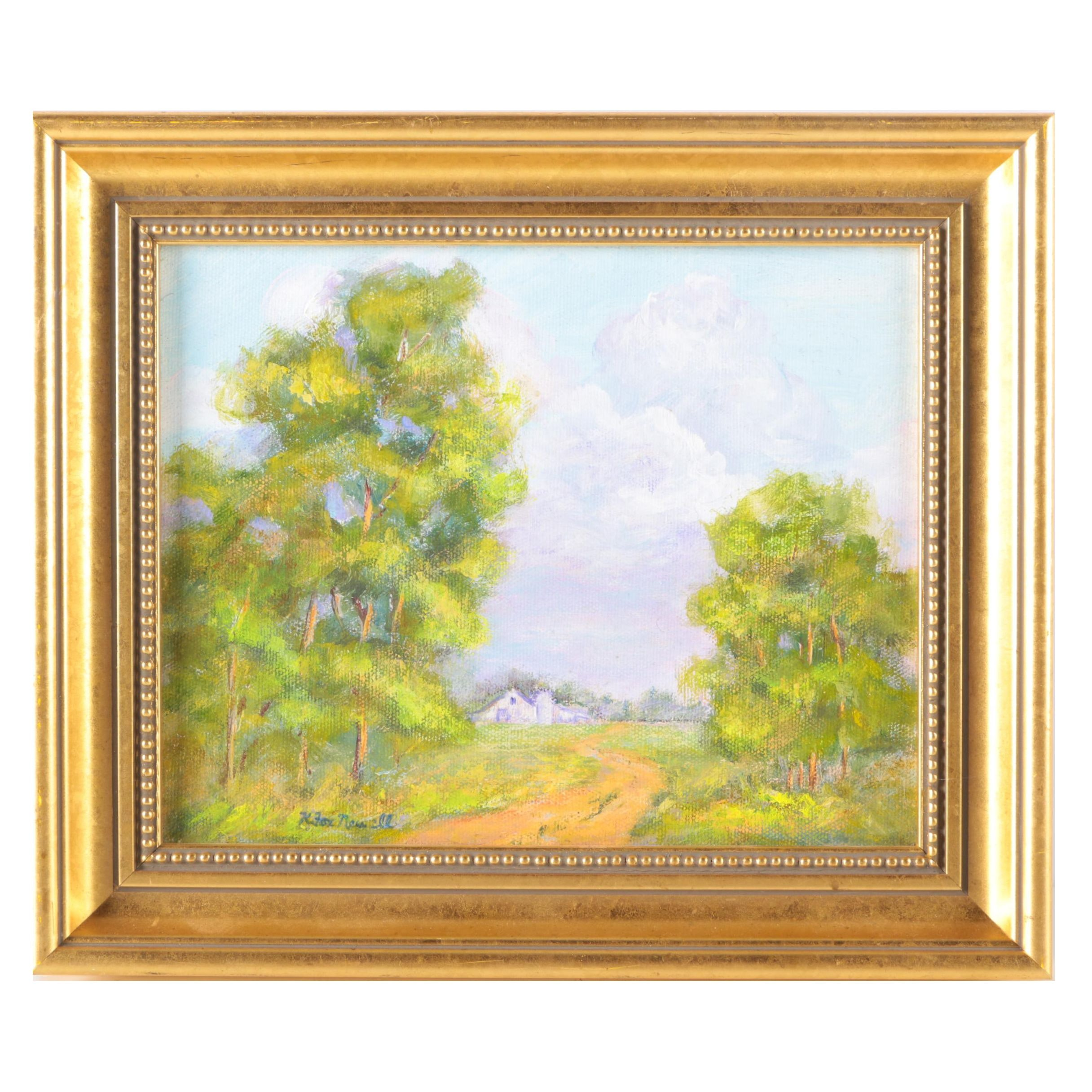 Original Oil Landscape Painting on Canvas