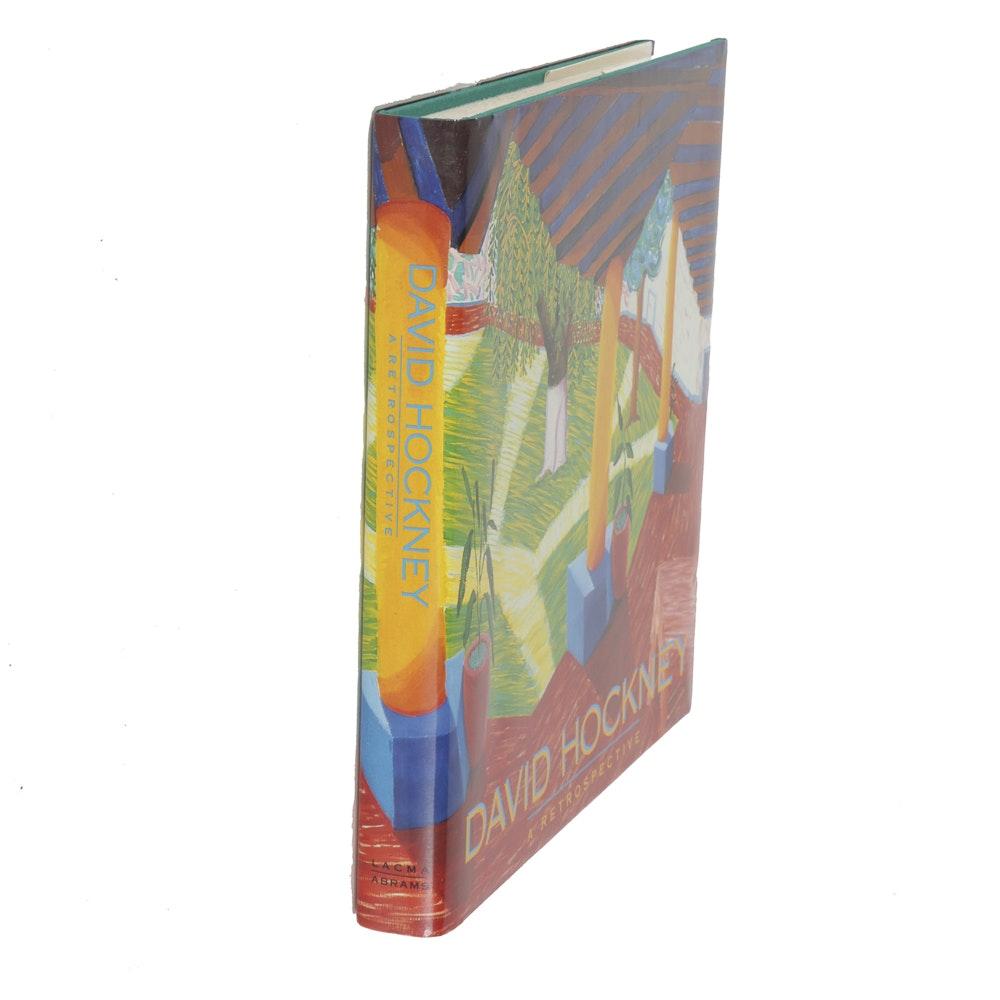 "Exhibition Catalog ""David Hockney: A Retrospective"""