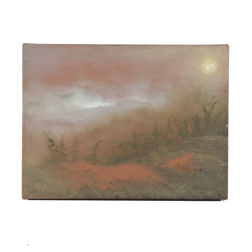Oil Painting on Canvas Abstract Landscape