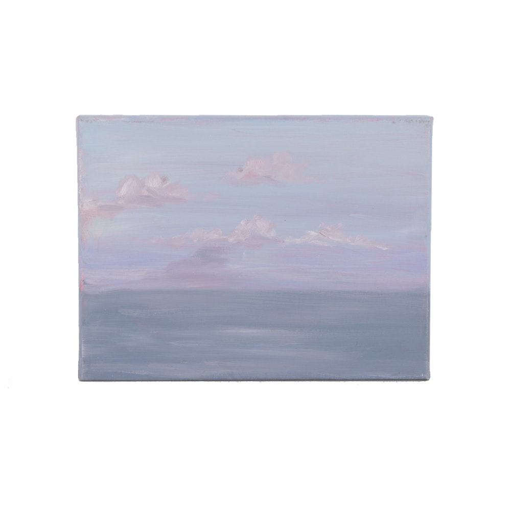 Oil Painting on Canvas Seascape
