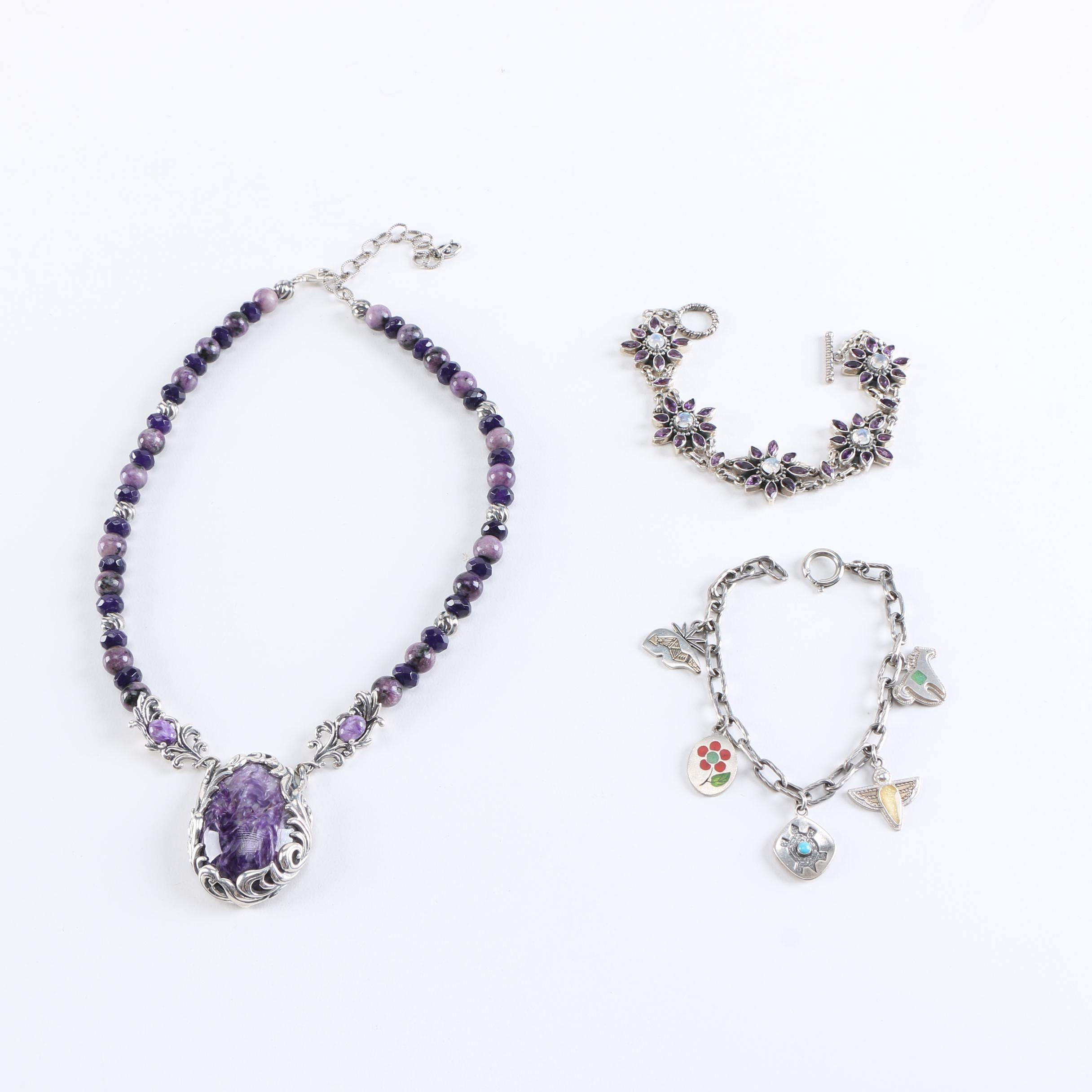 Sterling Silver and Gemstone Jewelry Featuring Carolyn Pollack