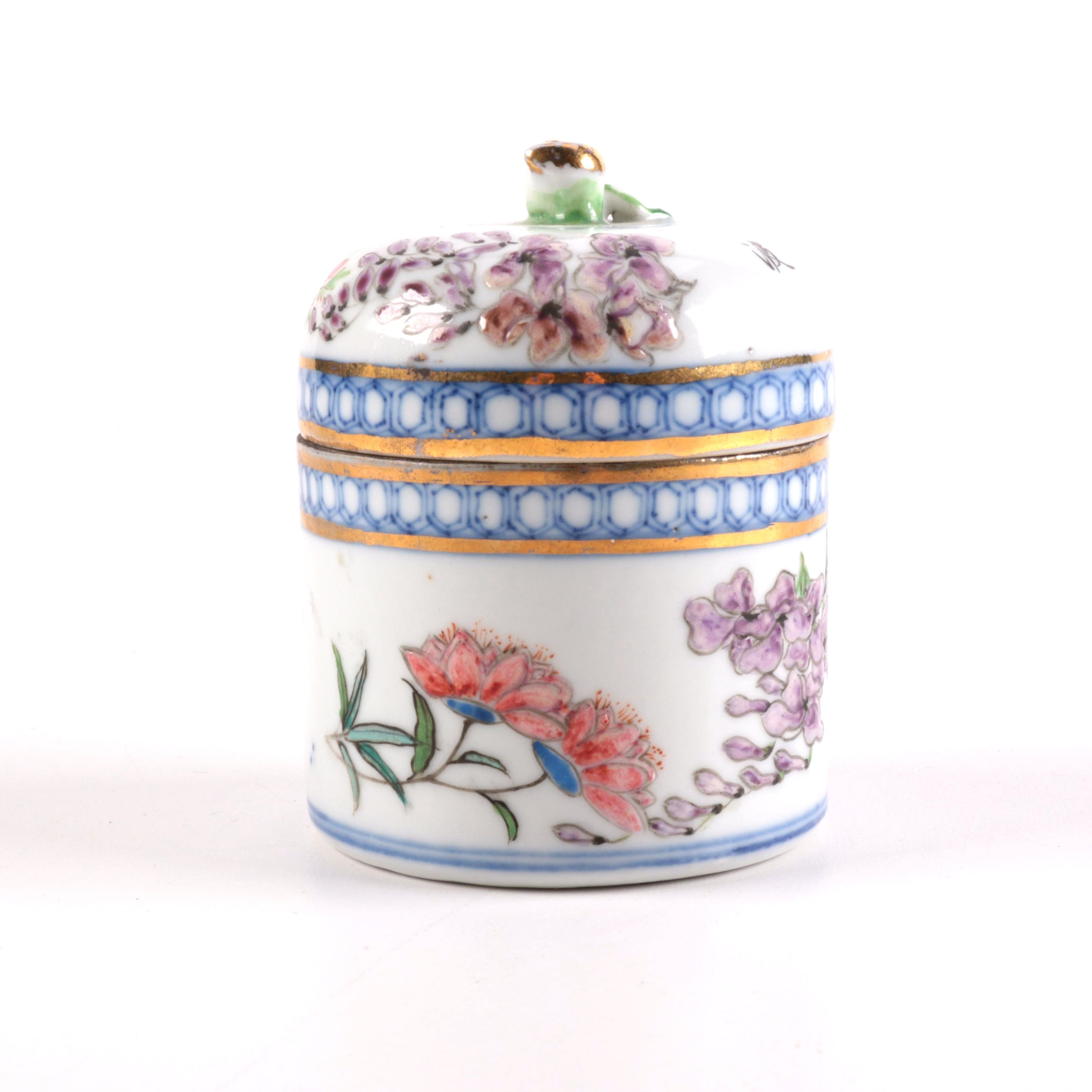 Chinese Porcelain Trinket Box