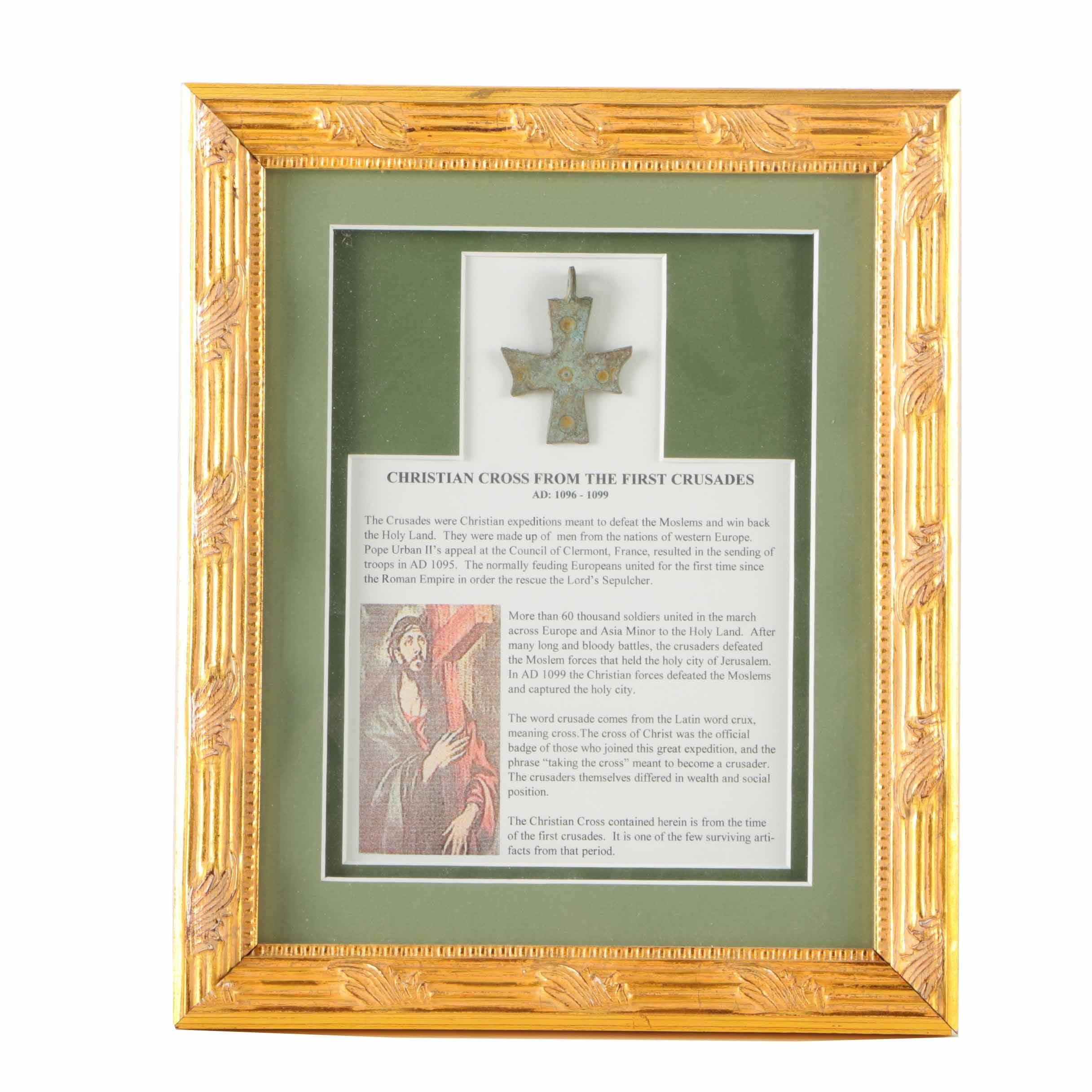 Metal Crusade Cross