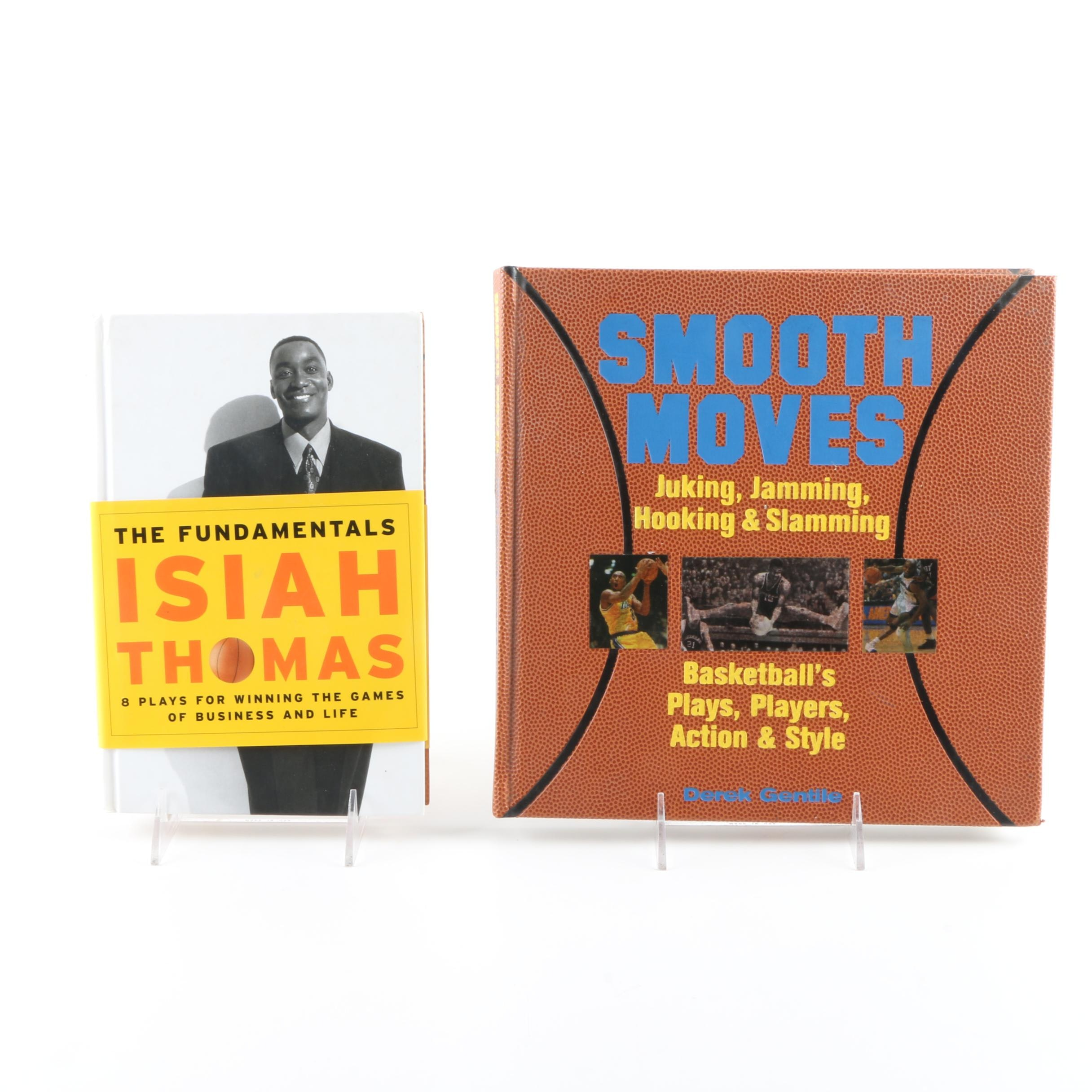 Pair of Basketball Books