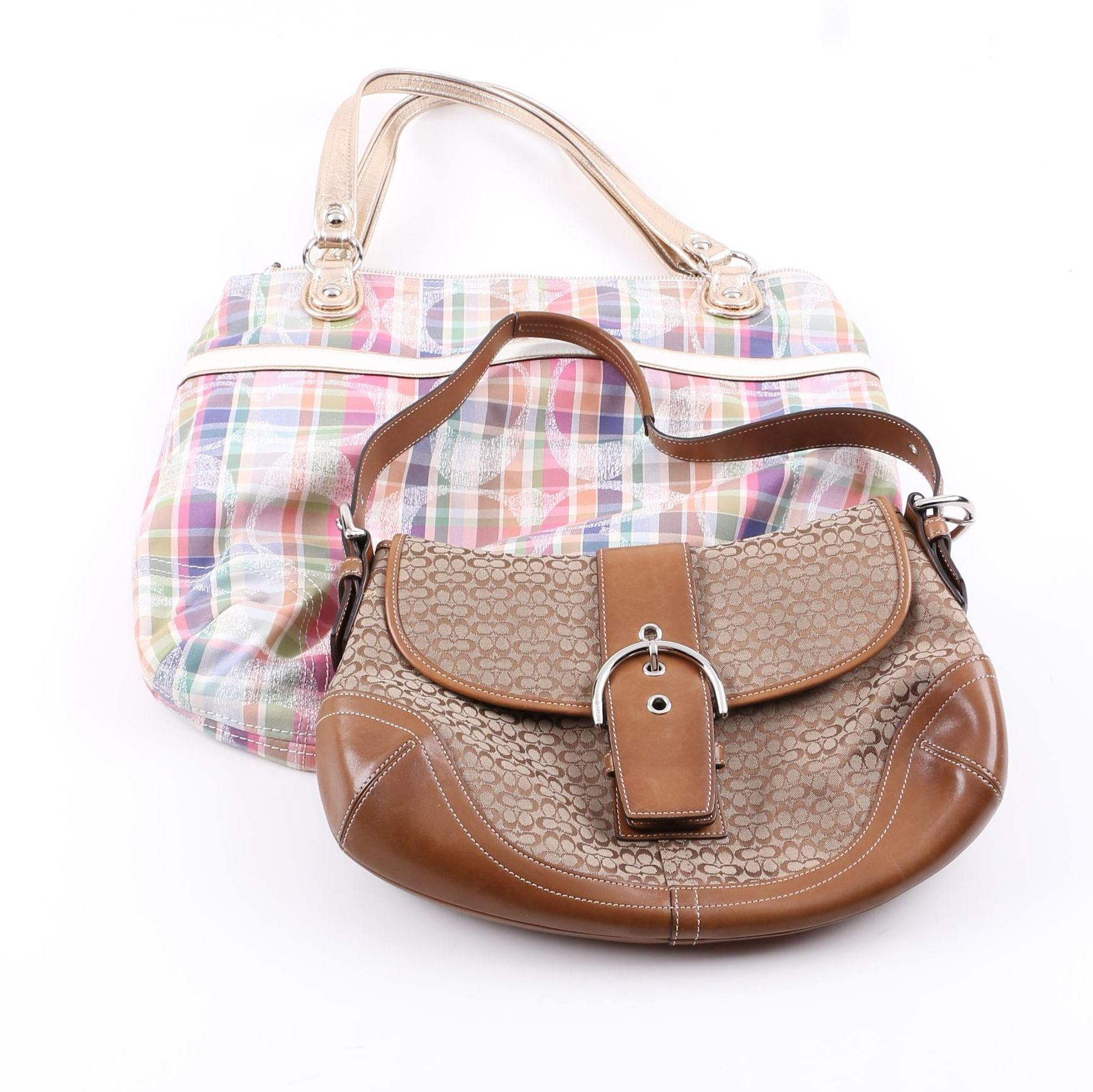Coach Monogram Handbags