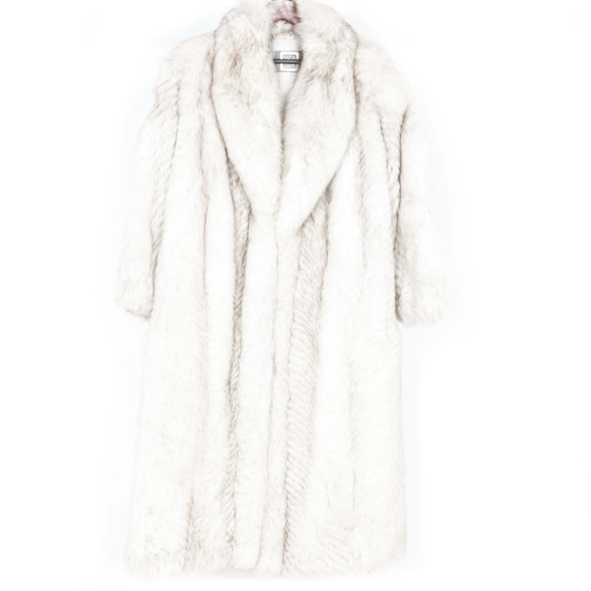 Saga Fox Fur Coat