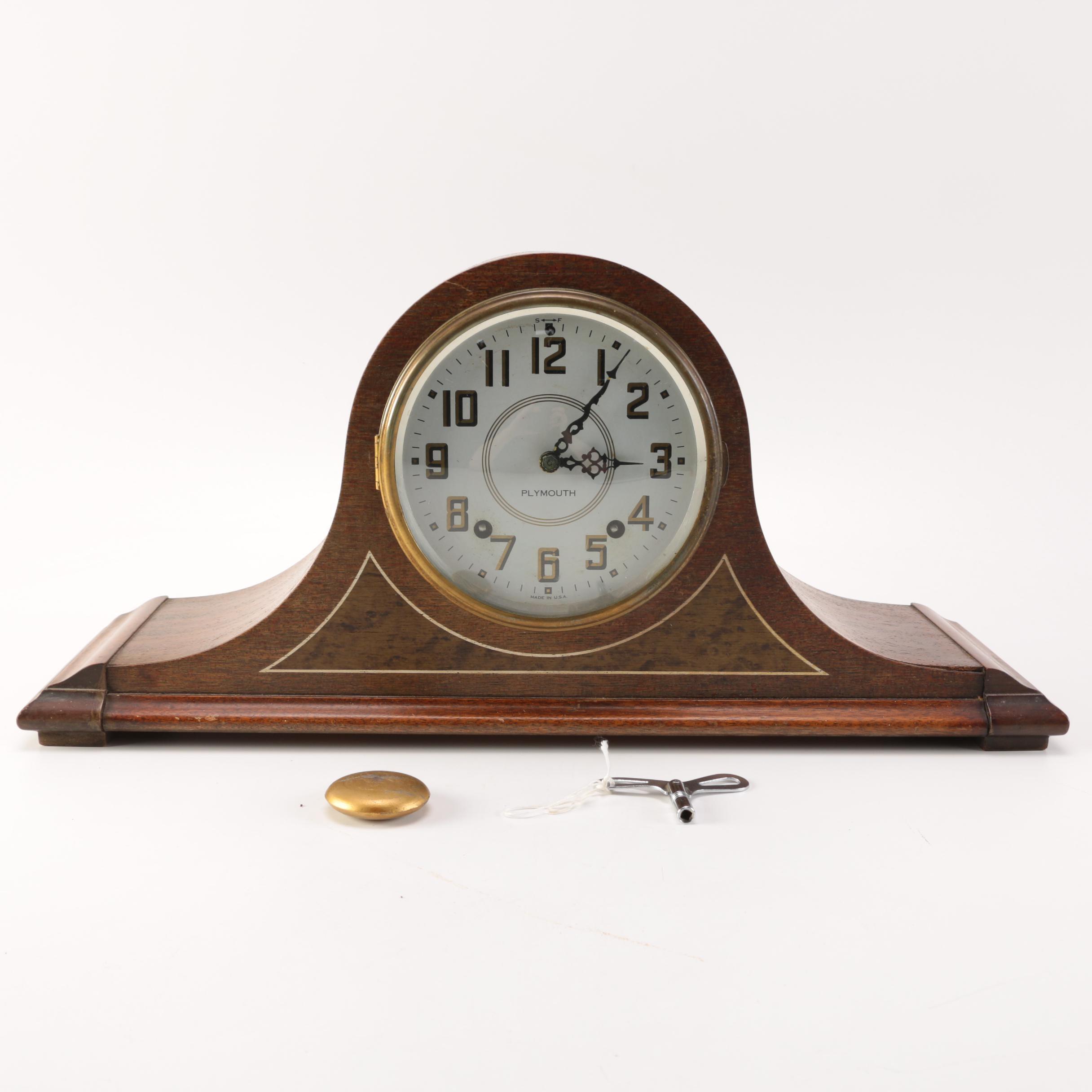 Vintage Thomas-Plymouth Mantel Clock