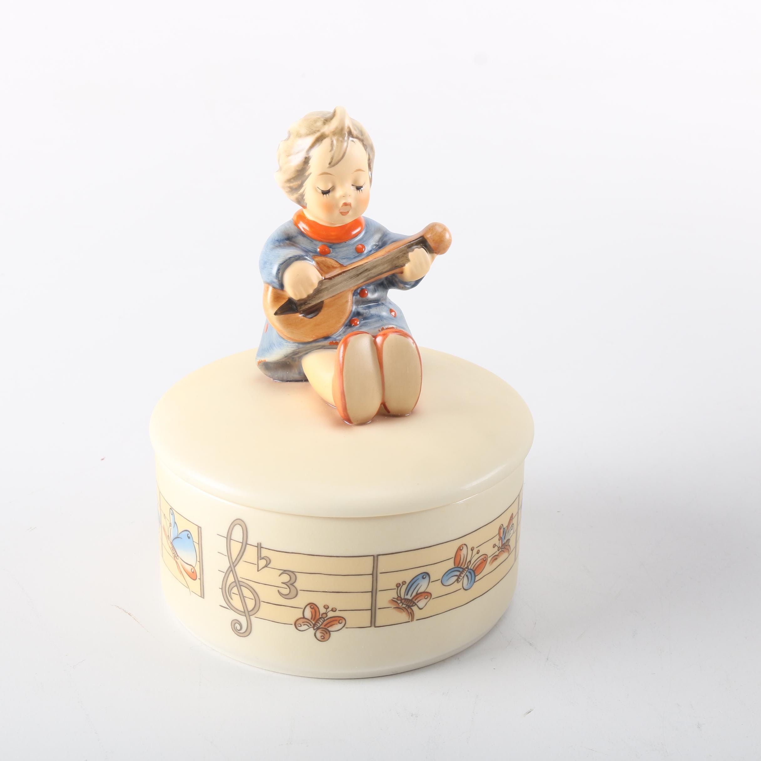"Goebel Hummel ""Let's Sing"" Figurine Box"